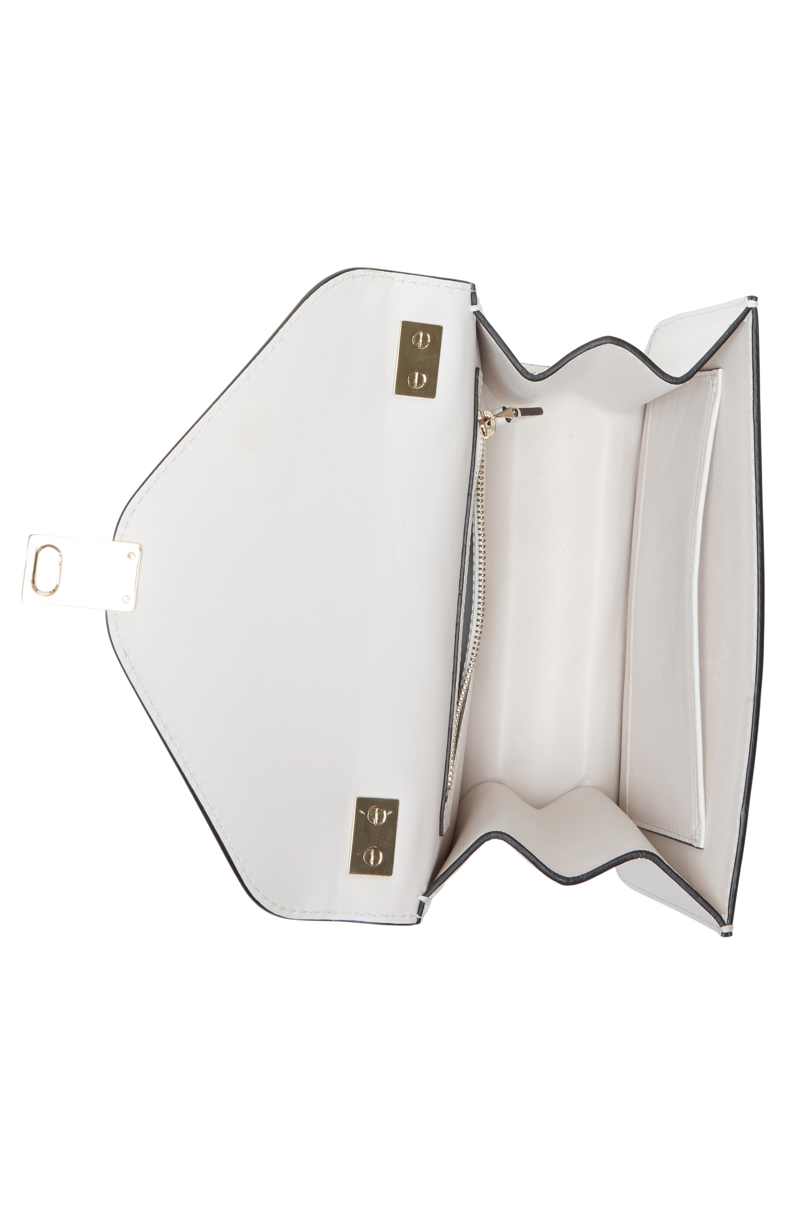 Alternate Image 4  - VALENTINO GARAVANI Small Panther Leather Shoulder Bag