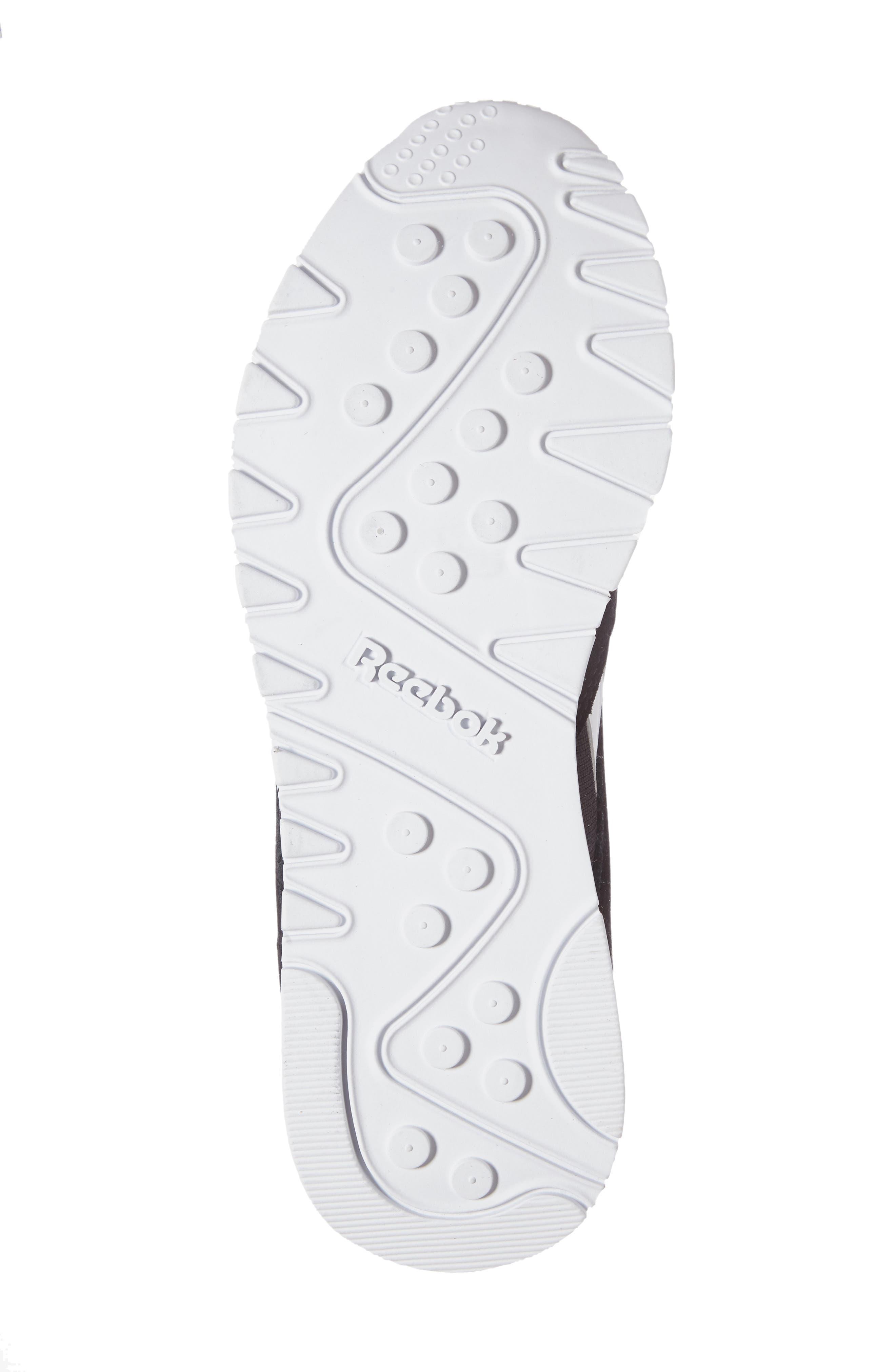 Classic Nylon Sneaker,                             Alternate thumbnail 4, color,                             Black/ White