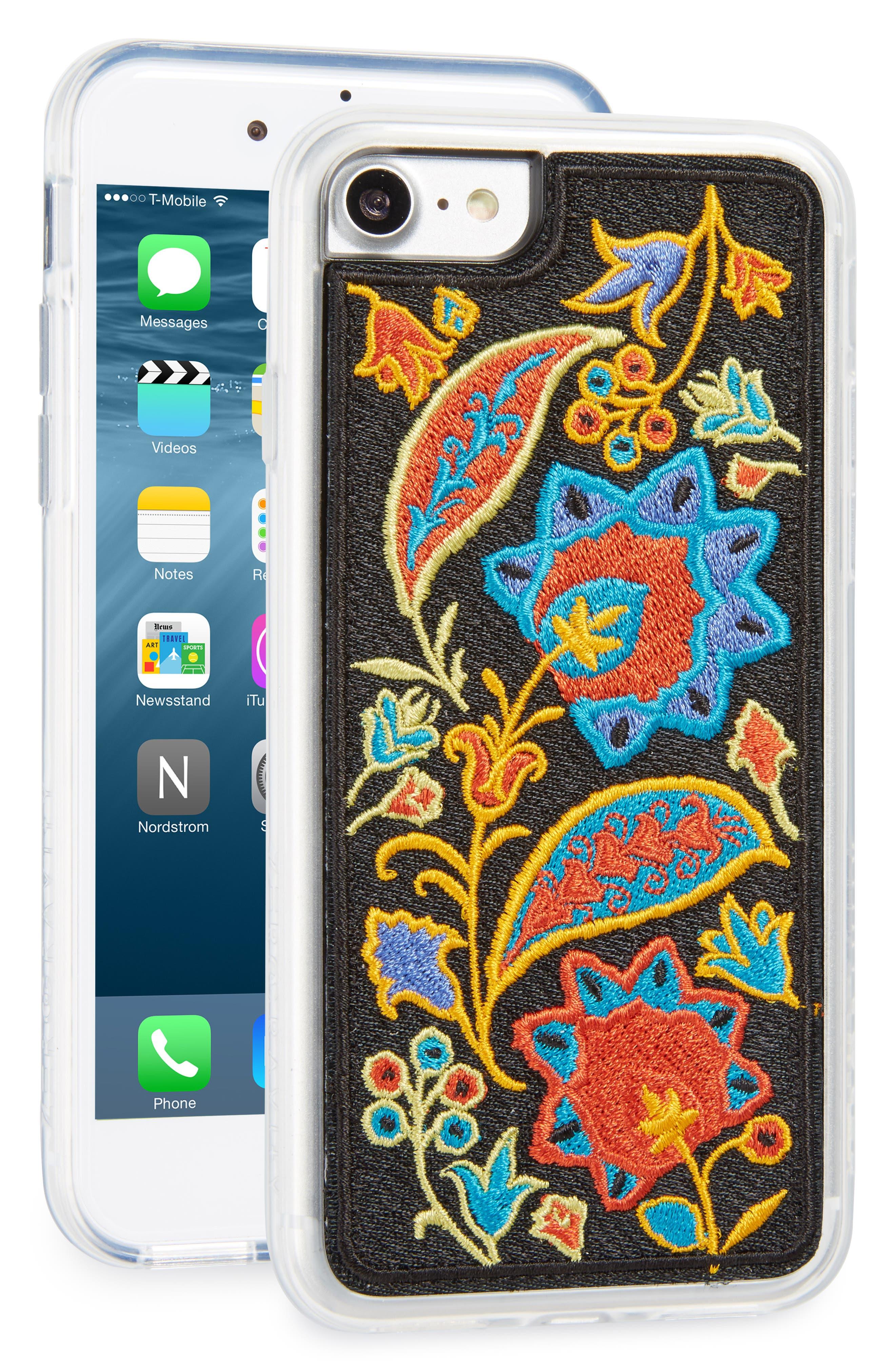 Main Image - Zero Gravity Red Bohemia iPhone Case (7 & 7 Plus)