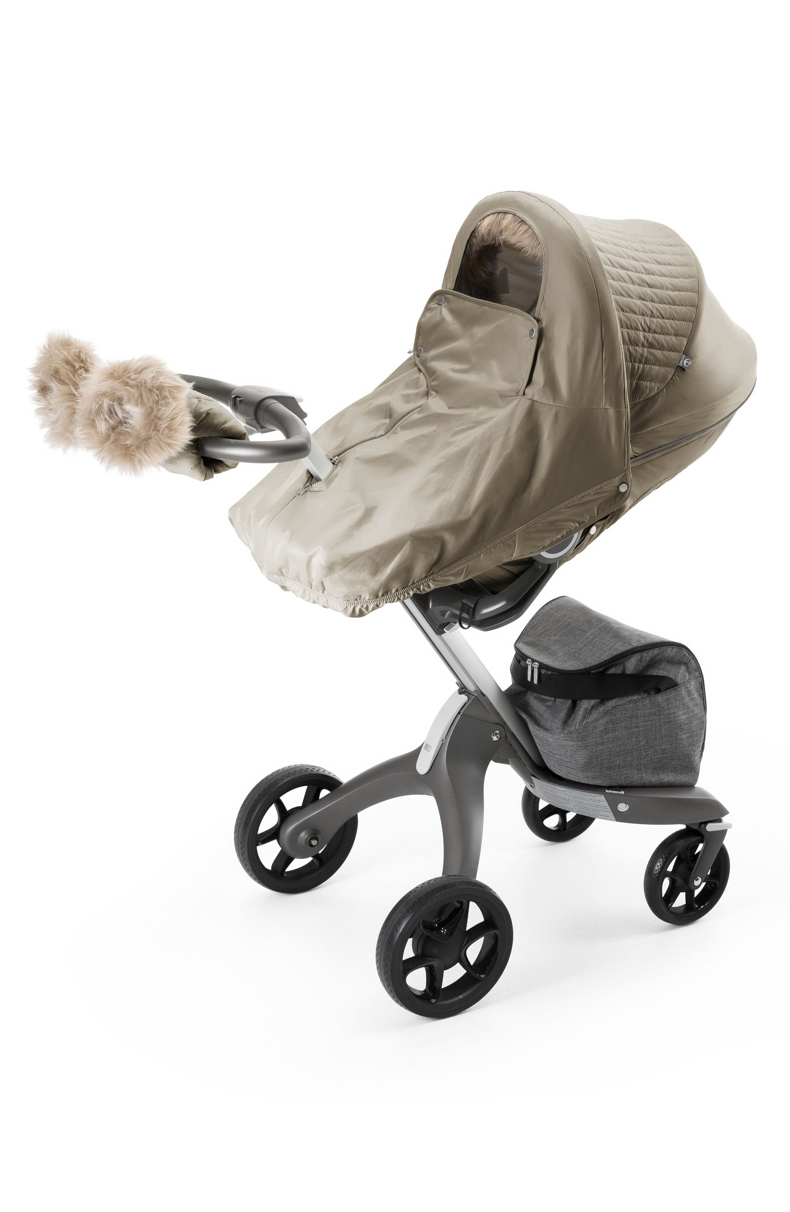 Stroller Winter Kit,                             Alternate thumbnail 2, color,                             Bronze Brown