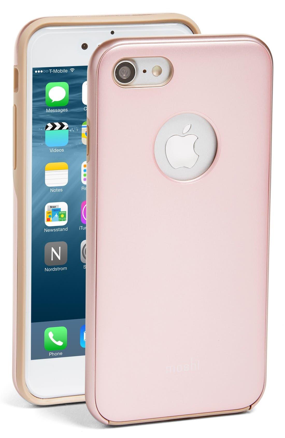 Alternate Image 1 Selected - Moshi iGlaze iPhone 7/8 Case