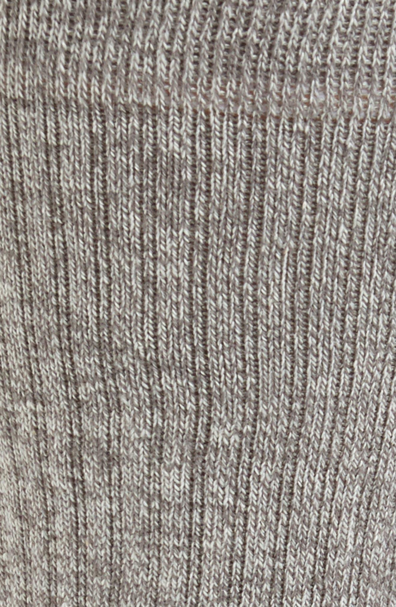 'Icon' Athletic Socks,                             Alternate thumbnail 2, color,                             Grey Heath