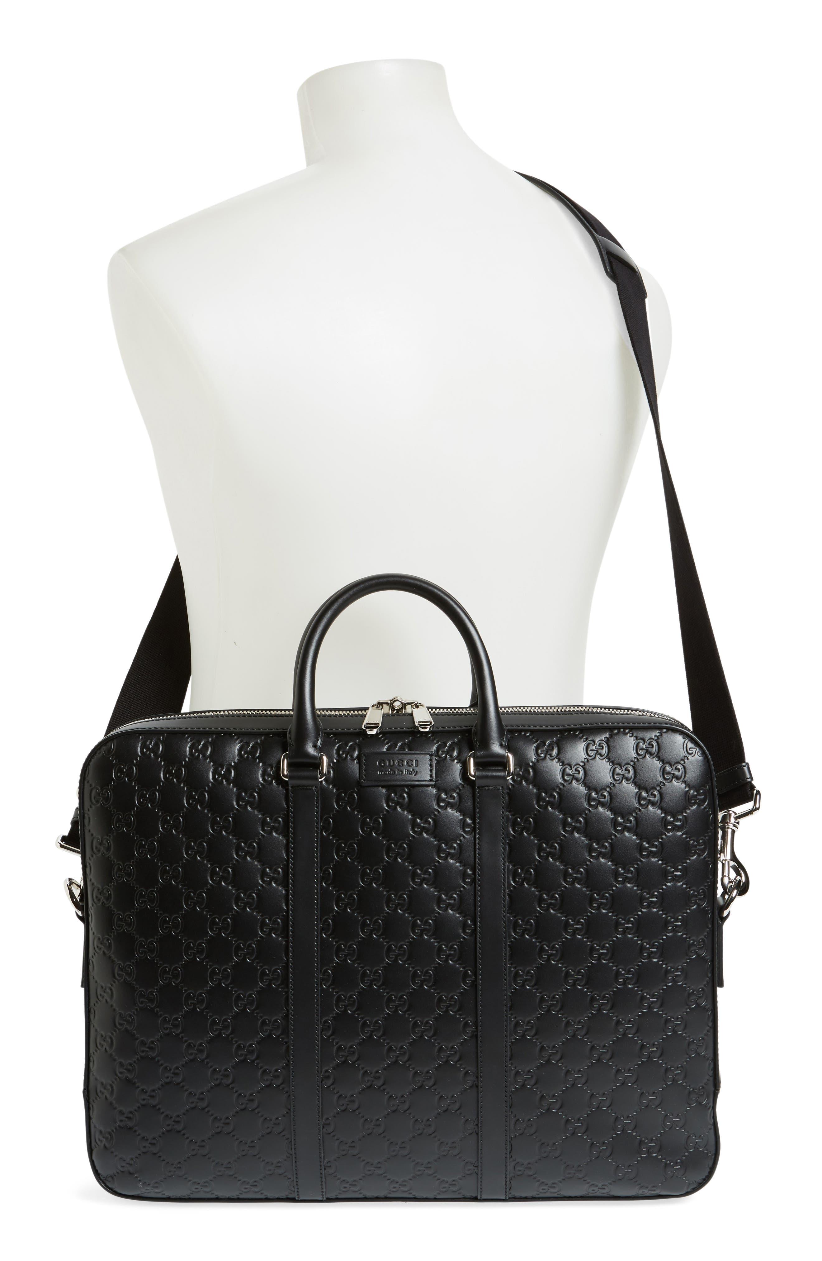 Alternate Image 2  - Gucci Signature Leather Briefcase