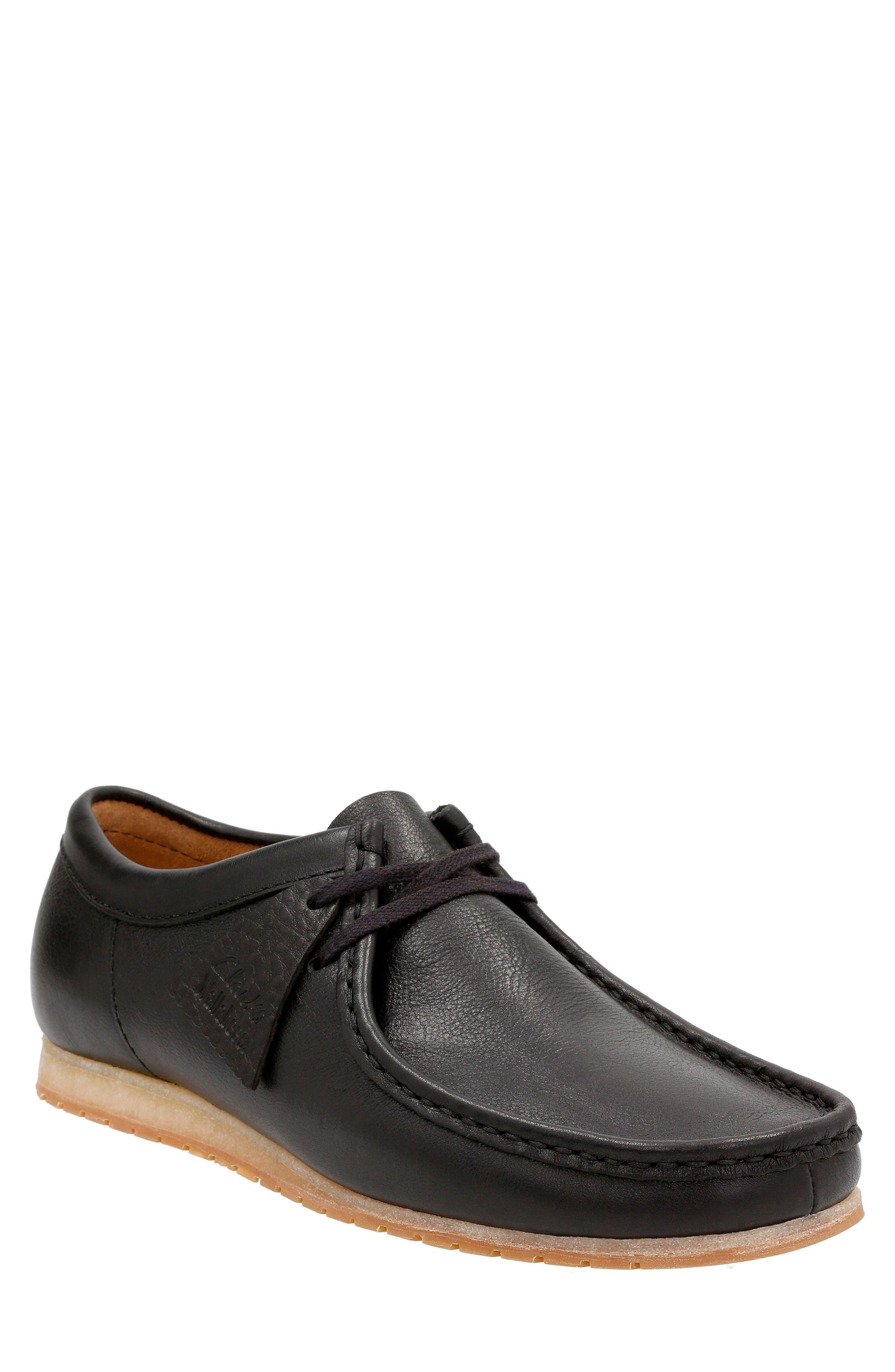 Clarks® Wallabee® Step Moc Toe Lace-Up Shoe (Men)