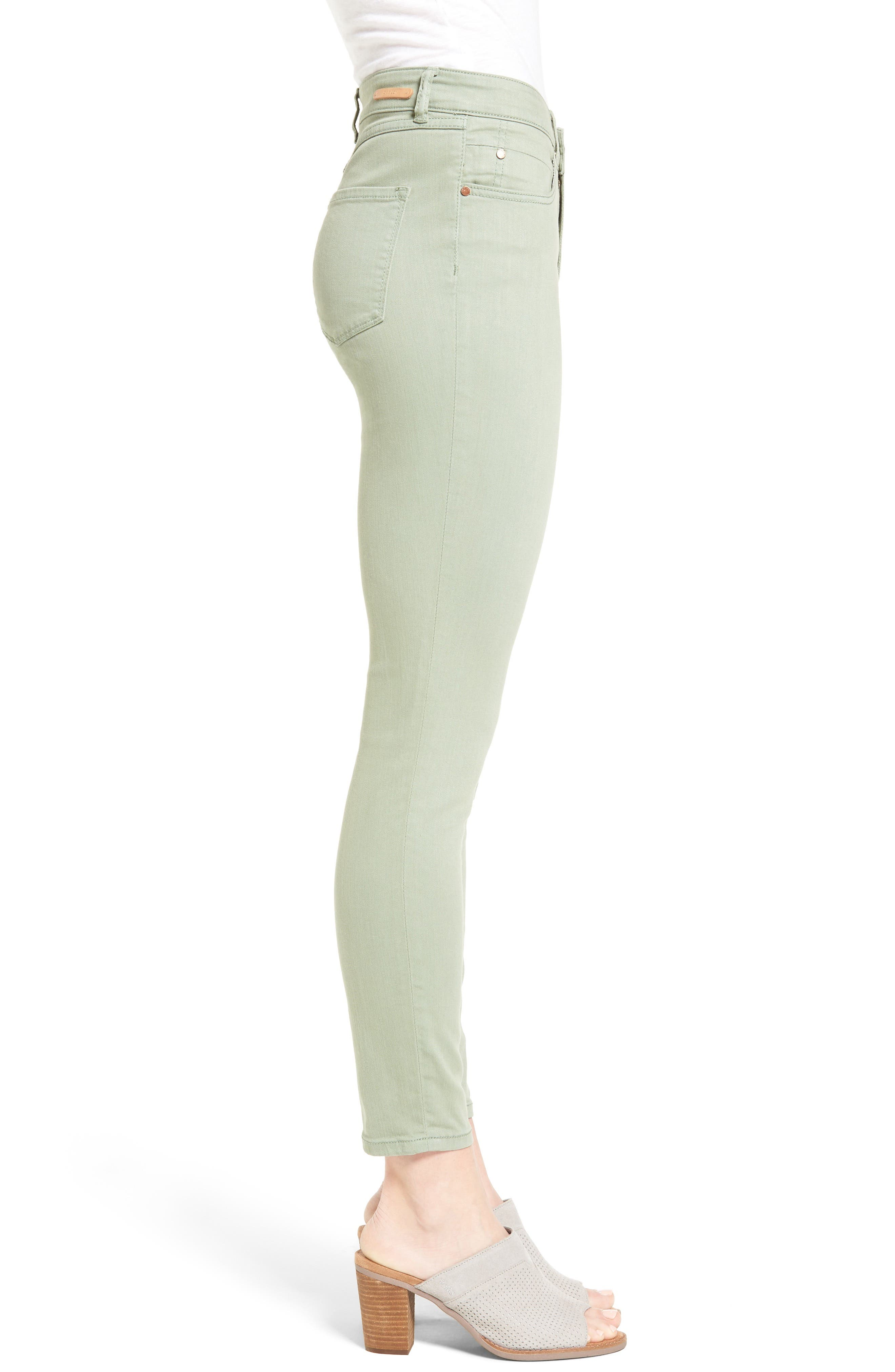 Alternate Image 3  - Caslon® Stretch Ankle Skinny Pants (Regular & Petite)
