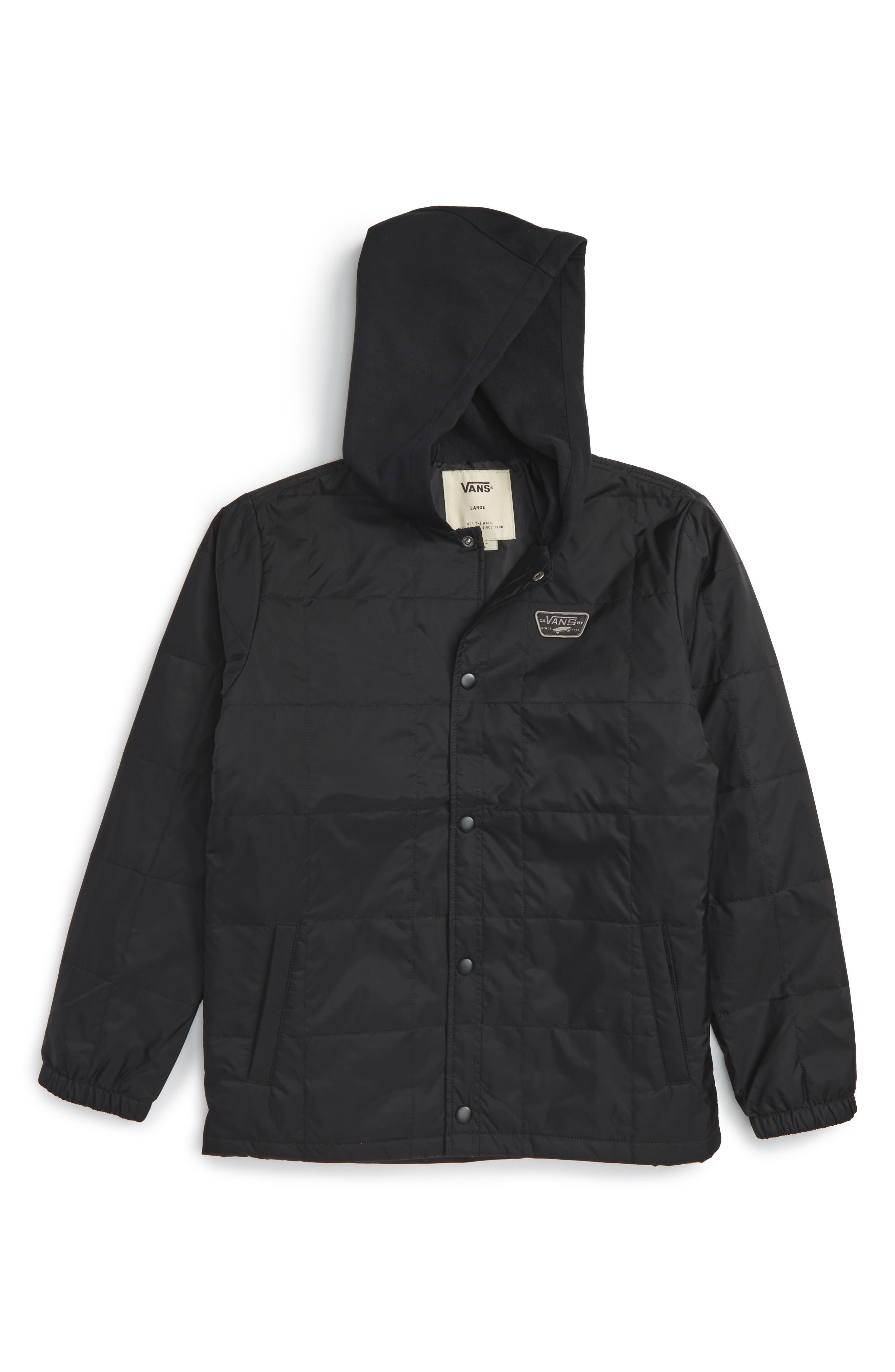 Santiago III Jacket,                             Main thumbnail 1, color,                             Black