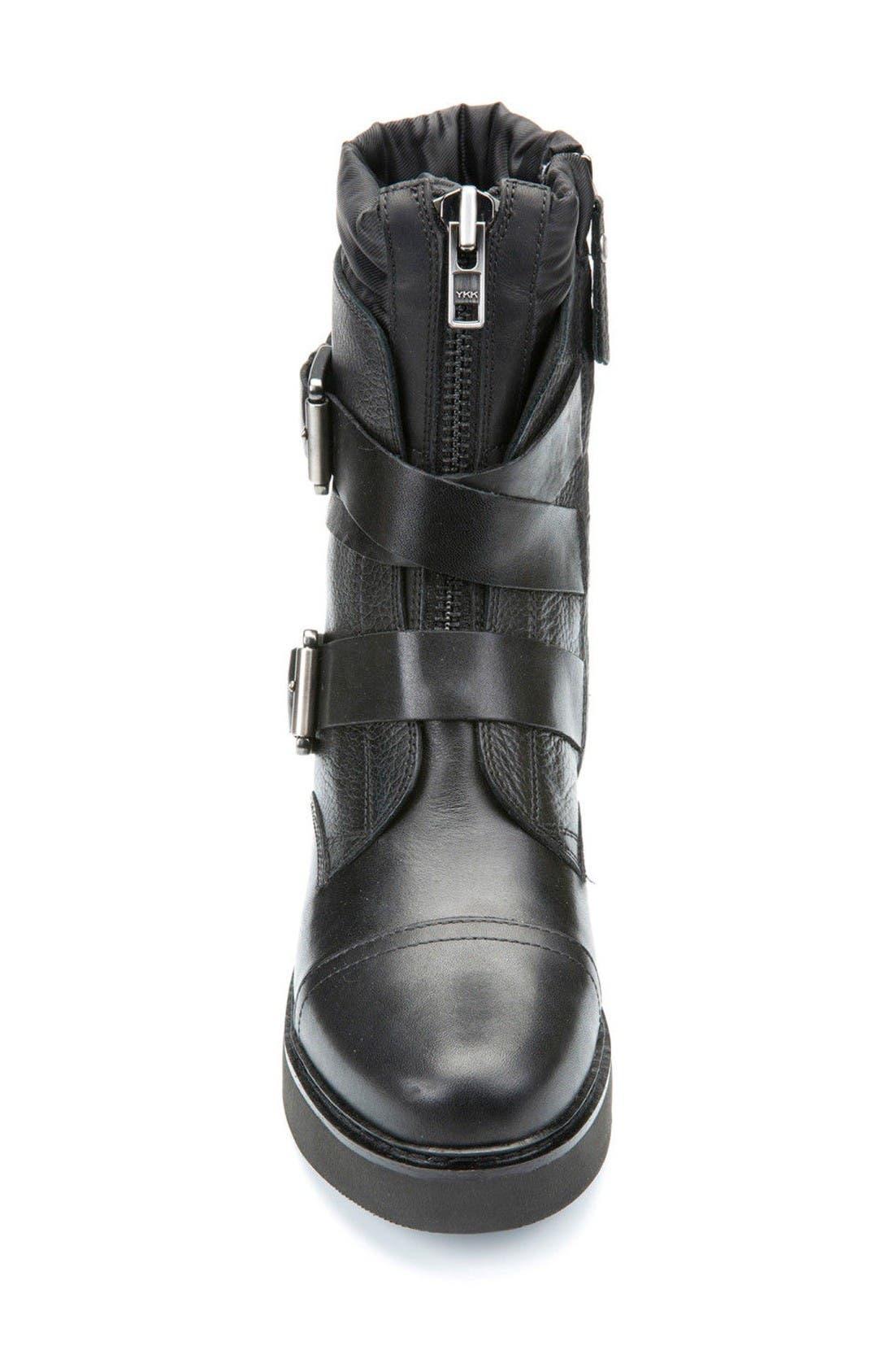Alternate Image 3  - Geox Rayssa Moto Boot (Women)