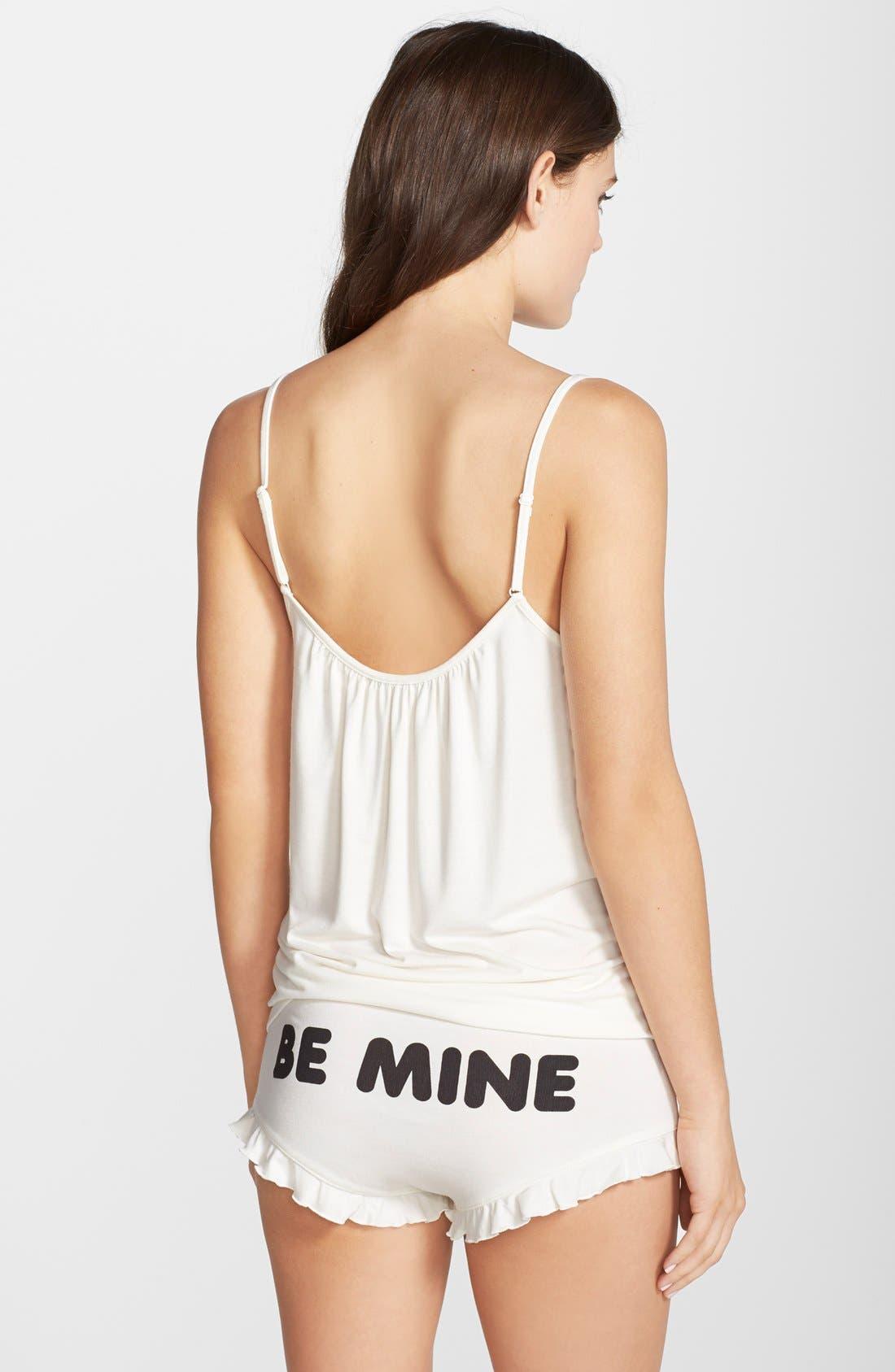 Alternate Image 3  - Wildfox 'Be Mine' Camisole Pajamas