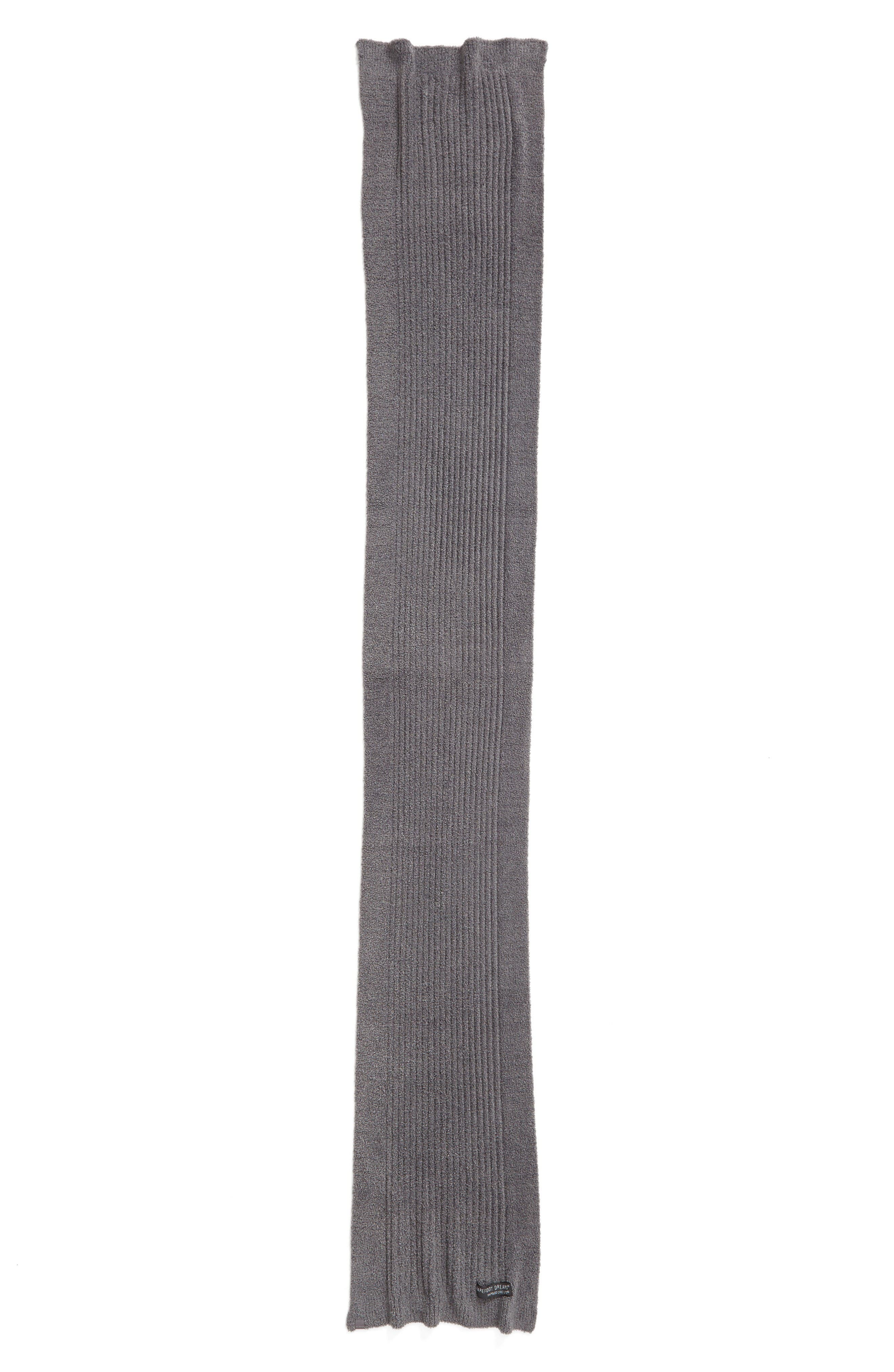 CozyChic Lite<sup>®</sup> Ribbed Scarf,                             Alternate thumbnail 2, color,                             Graphite