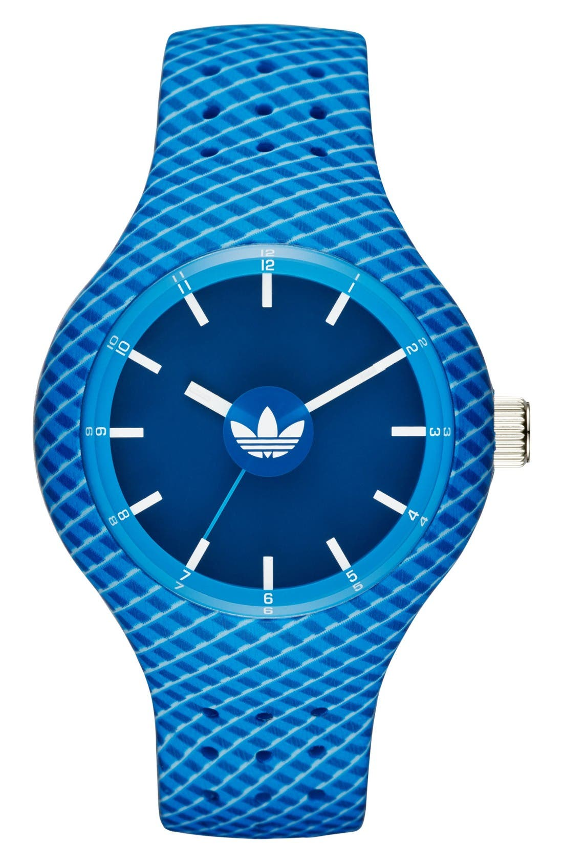 Alternate Image 1 Selected - adidas Originals Ipswich Silicone Watch, 41mm
