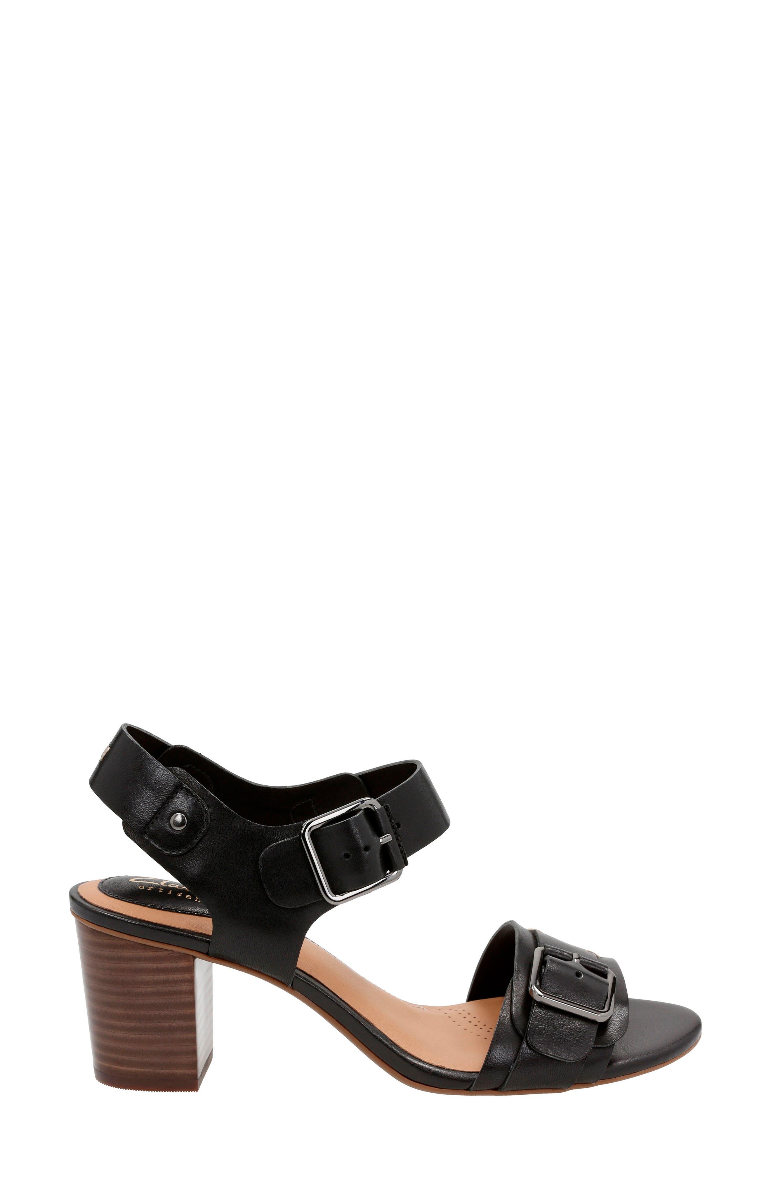 Ralene Dazzle Sandal,                             Alternate thumbnail 2, color,                             Black Leather