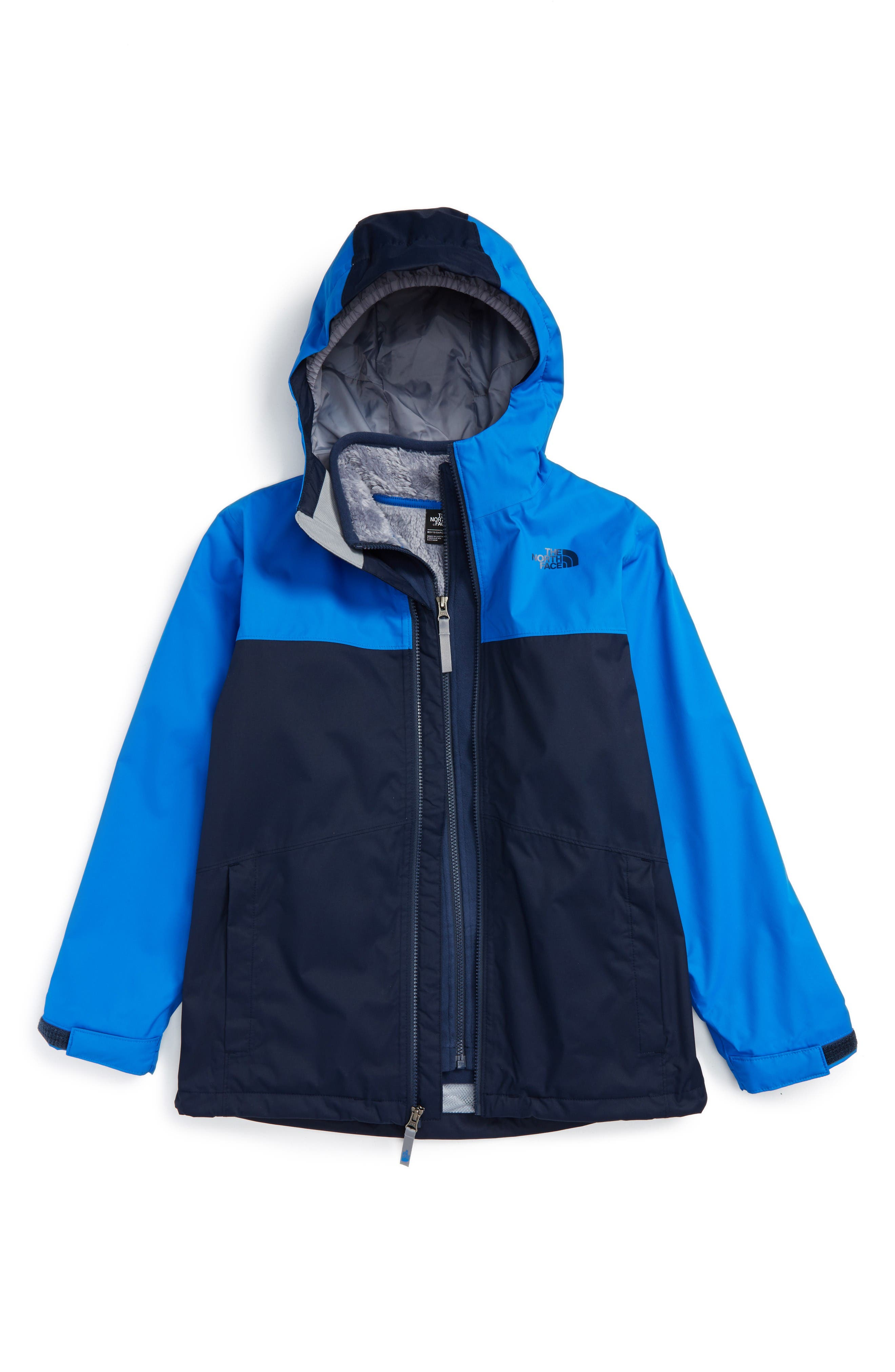 Main Image - The North Face Chimborazo Triclimate® Waterproof 3-in-1 Jacket (Big Boys)
