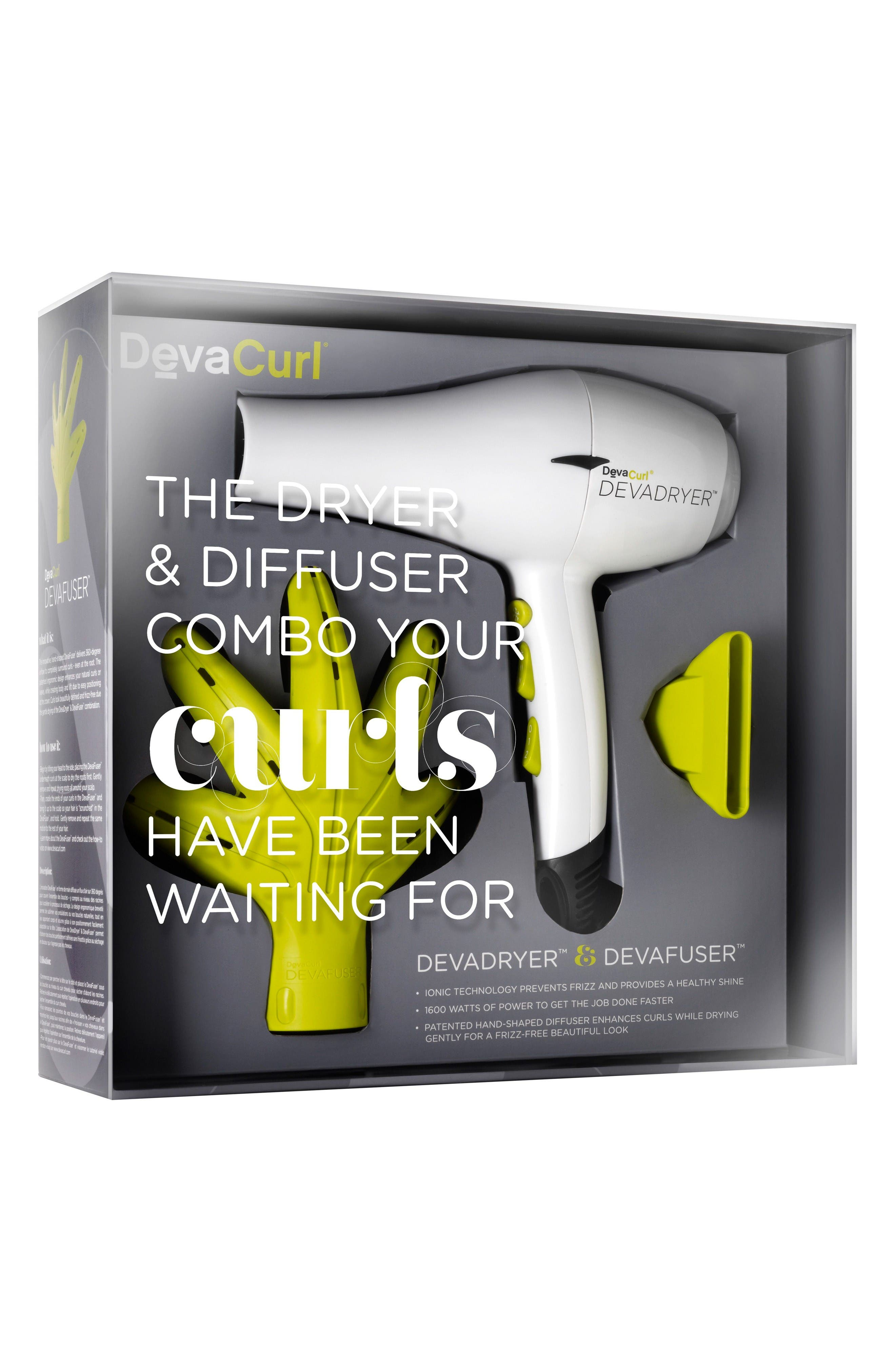 DevaCurl DevaDryer & DevaFuser Set