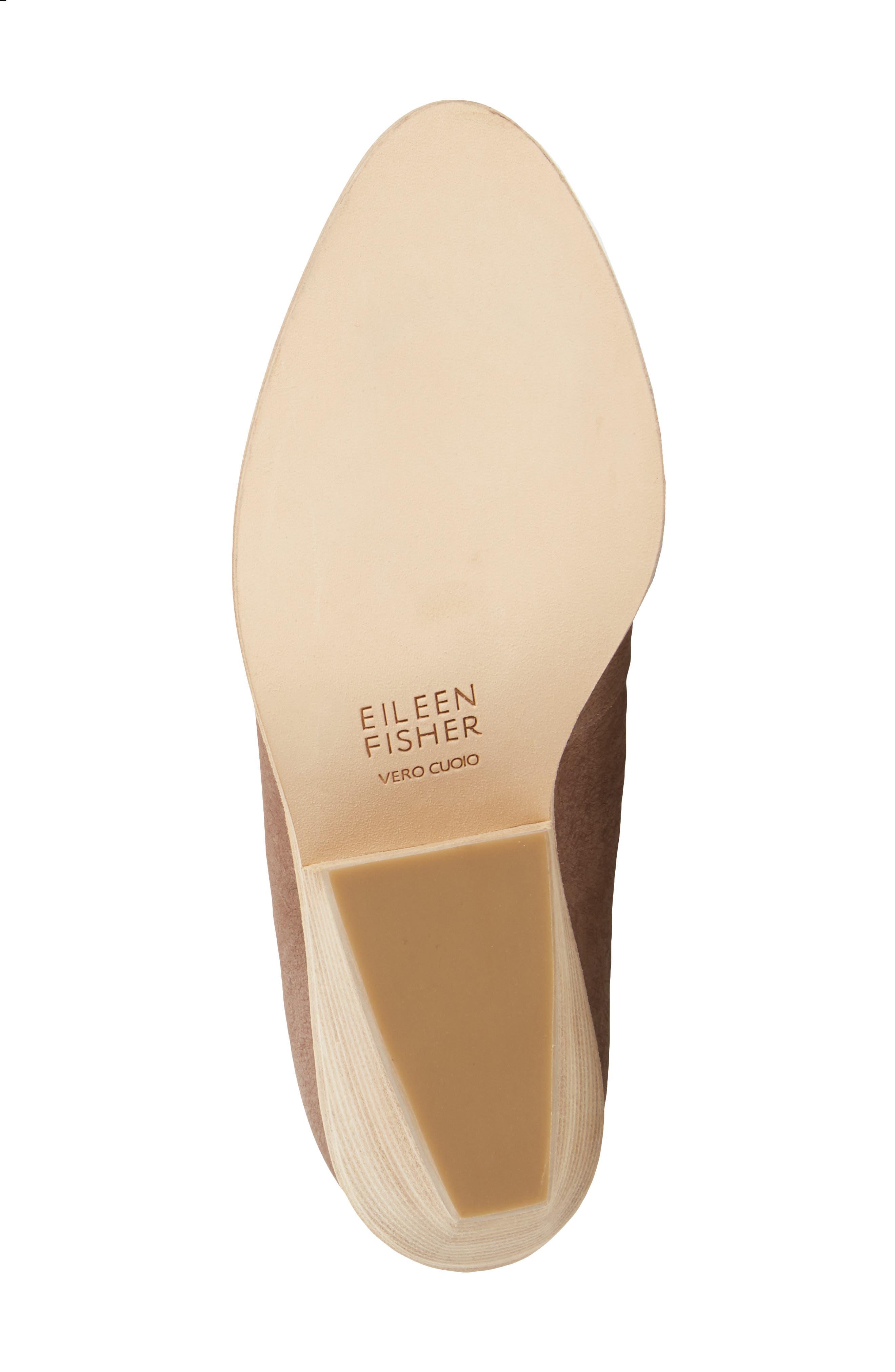 Alternate Image 4  - Eileen Fisher Nelson Split Shaft Block Heel Bootie (Women)