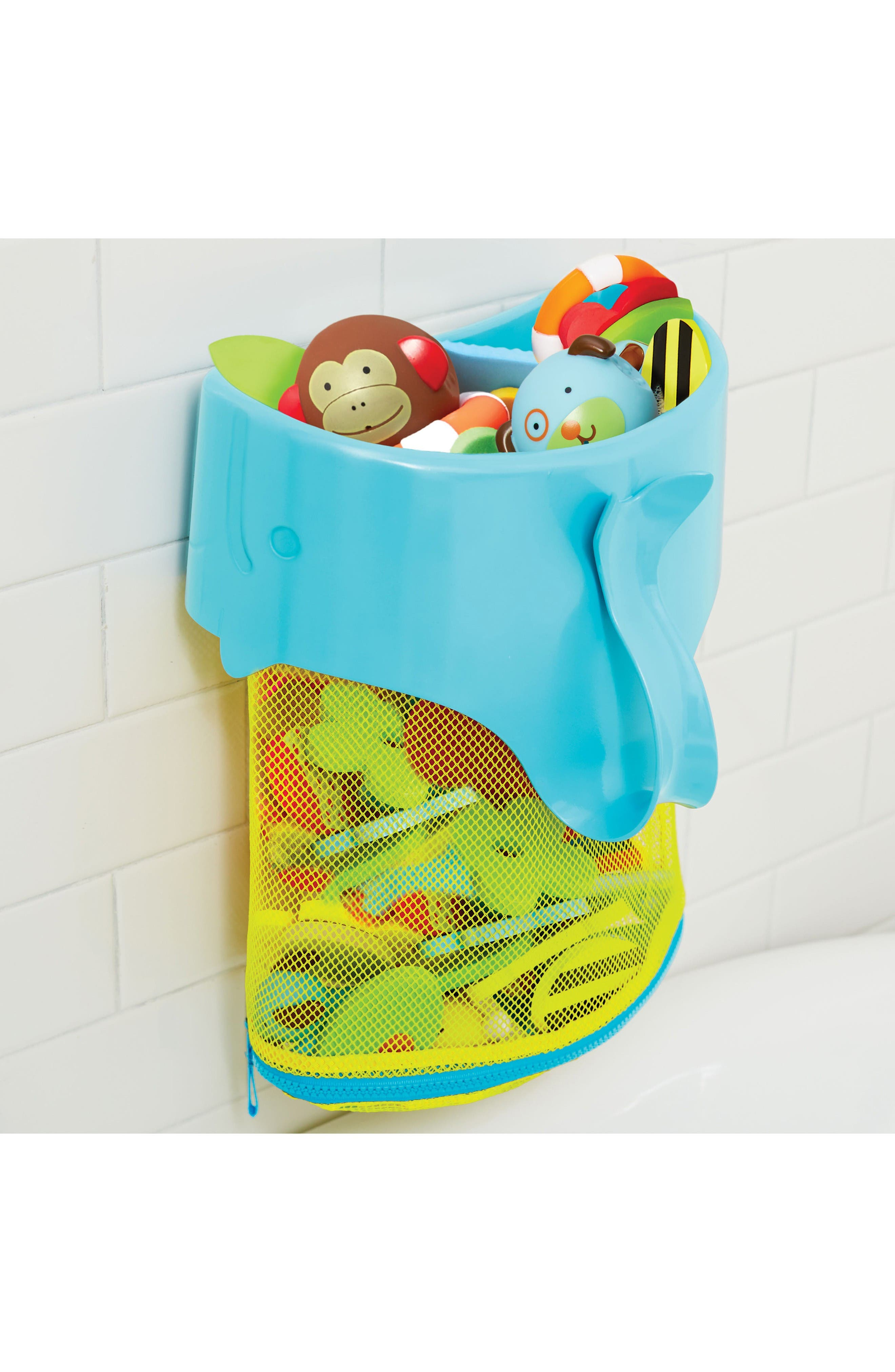 Alternate Image 3  - Skip Hop Moby Scoop & Splash Bath Toy Organizer