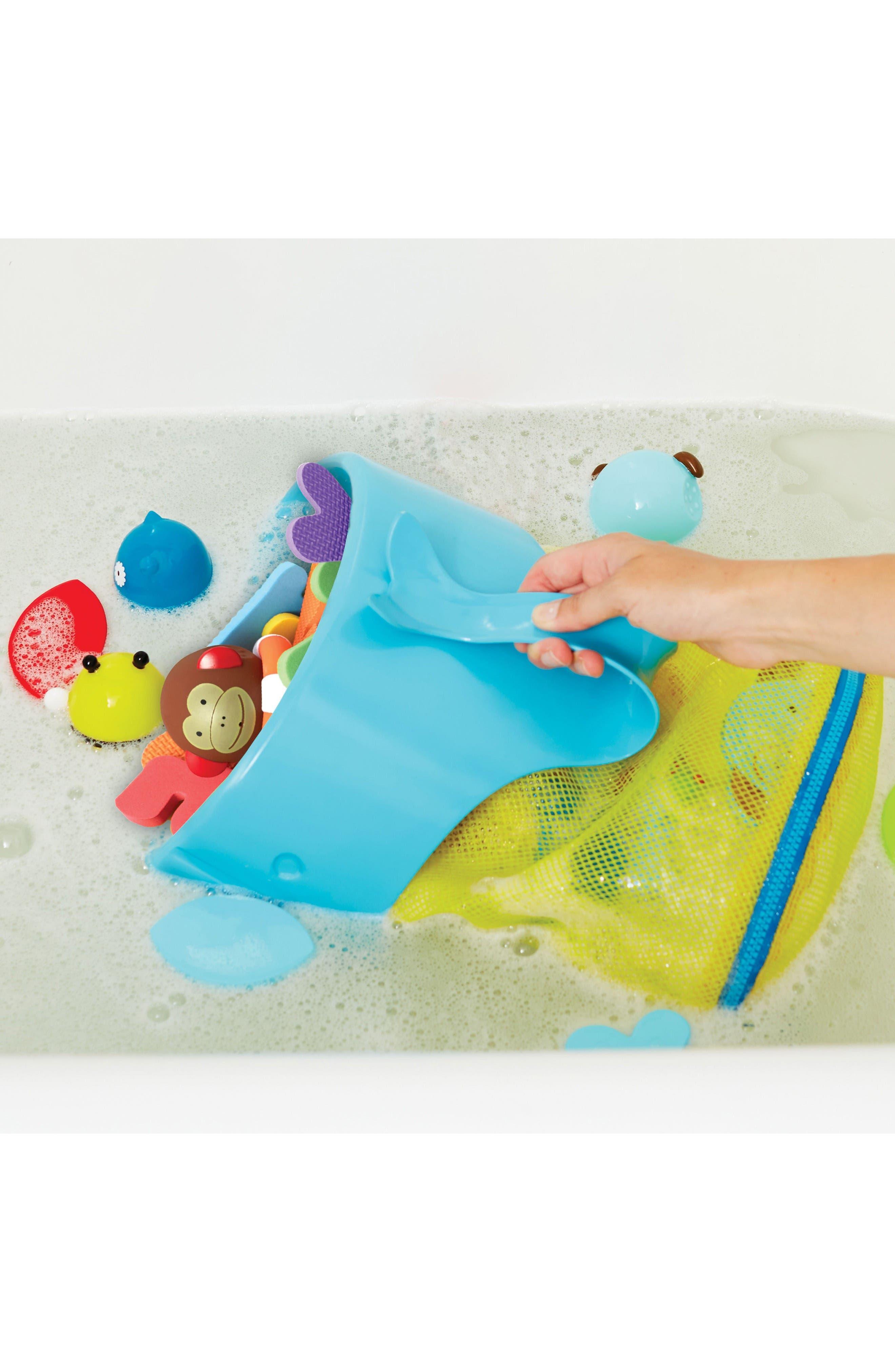 Alternate Image 4  - Skip Hop Moby Scoop & Splash Bath Toy Organizer