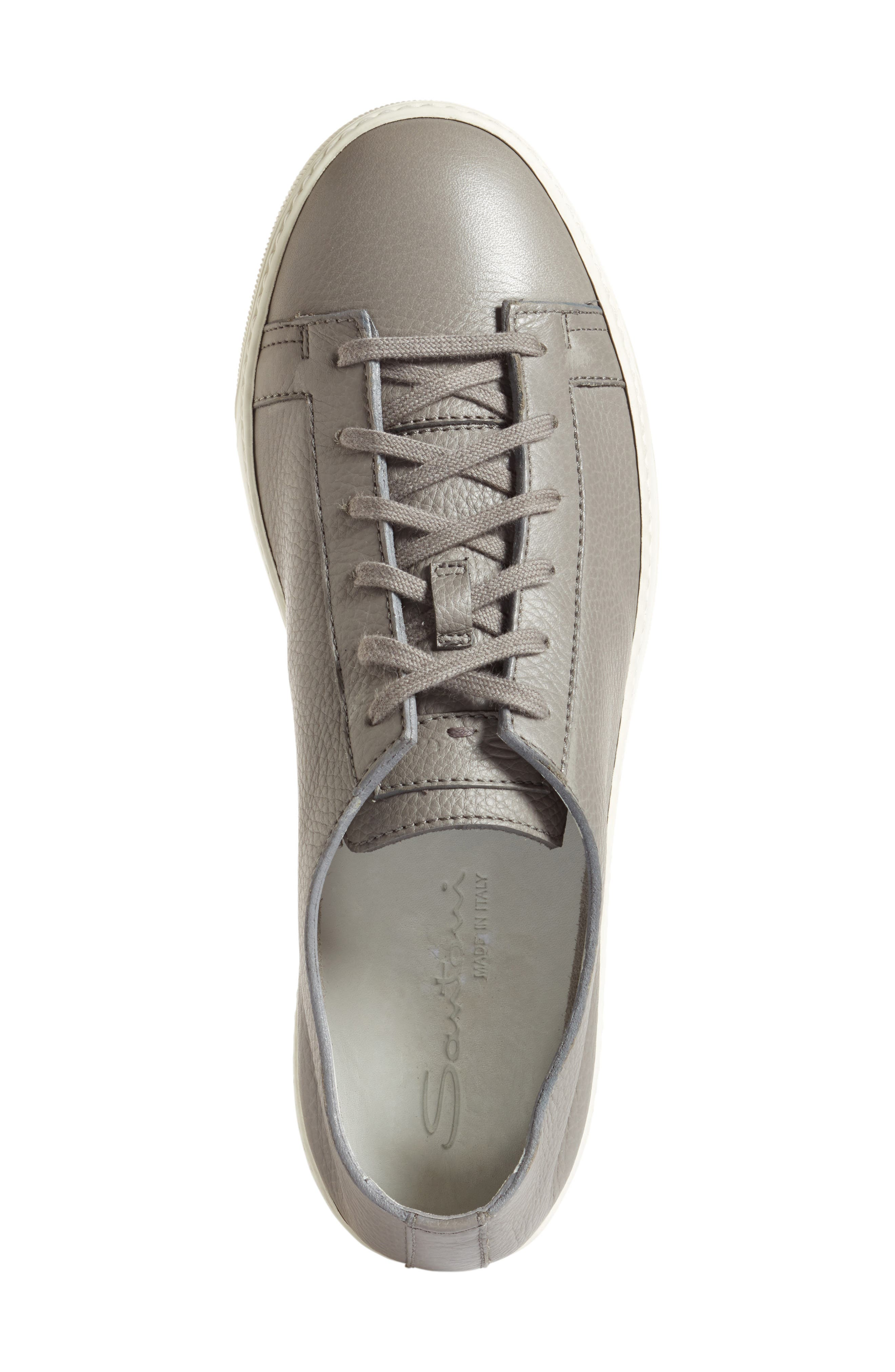 Cleanic Sneaker,                             Alternate thumbnail 3, color,                             Grey Leather