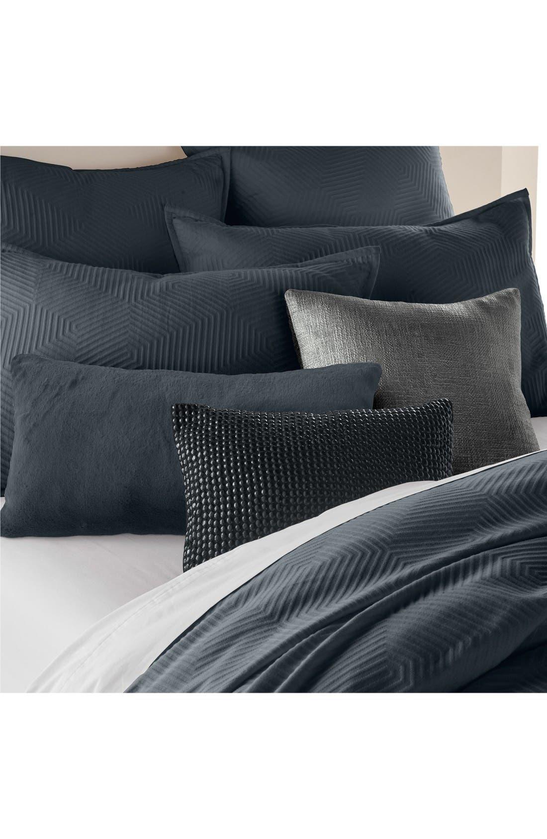 Alternate Image 2  - DKNY Metro Matelassé Accent Pillow