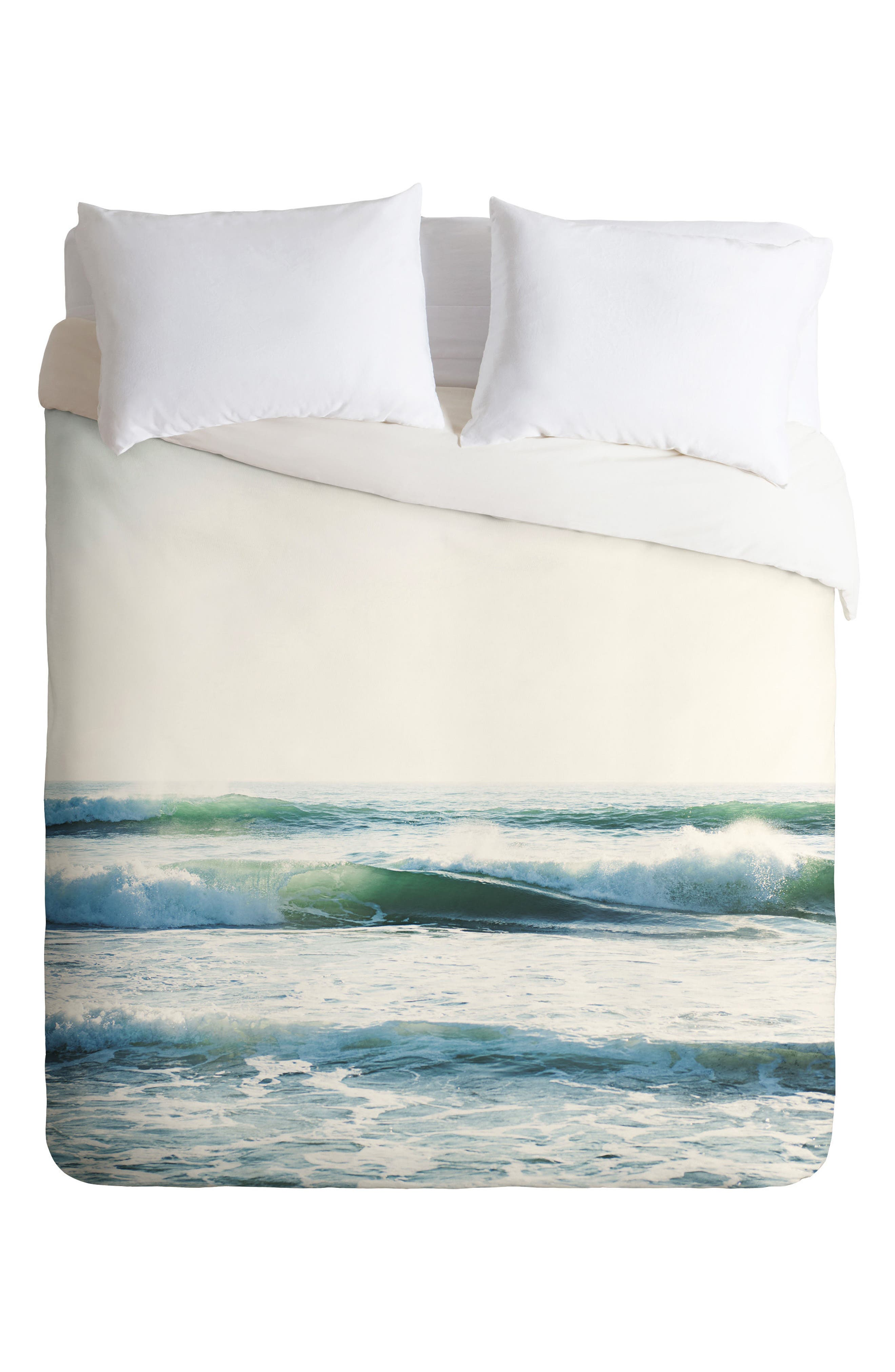 Ride Waves Duvet Cover & Sham Set,                             Alternate thumbnail 2, color,                             Blue/ Multi