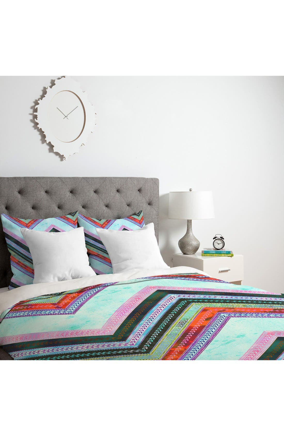 Alternate Image 3  - Deny Designs Boho Chevron Duvet Cover & Sham Set
