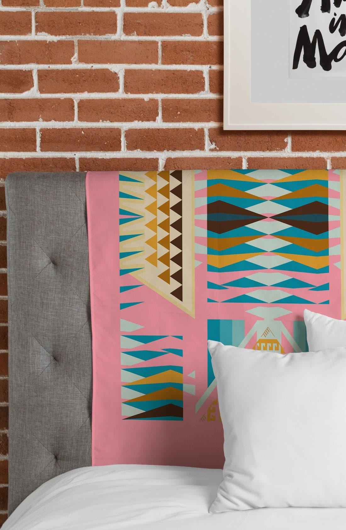 Acacia Pink Tapestry,                             Alternate thumbnail 3, color,                             Pink/ Multi