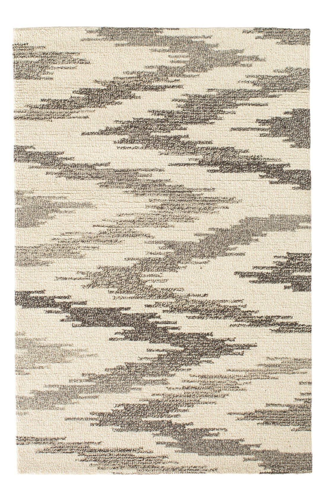 Chekat Wool Rug,                             Main thumbnail 1, color,                             Grey