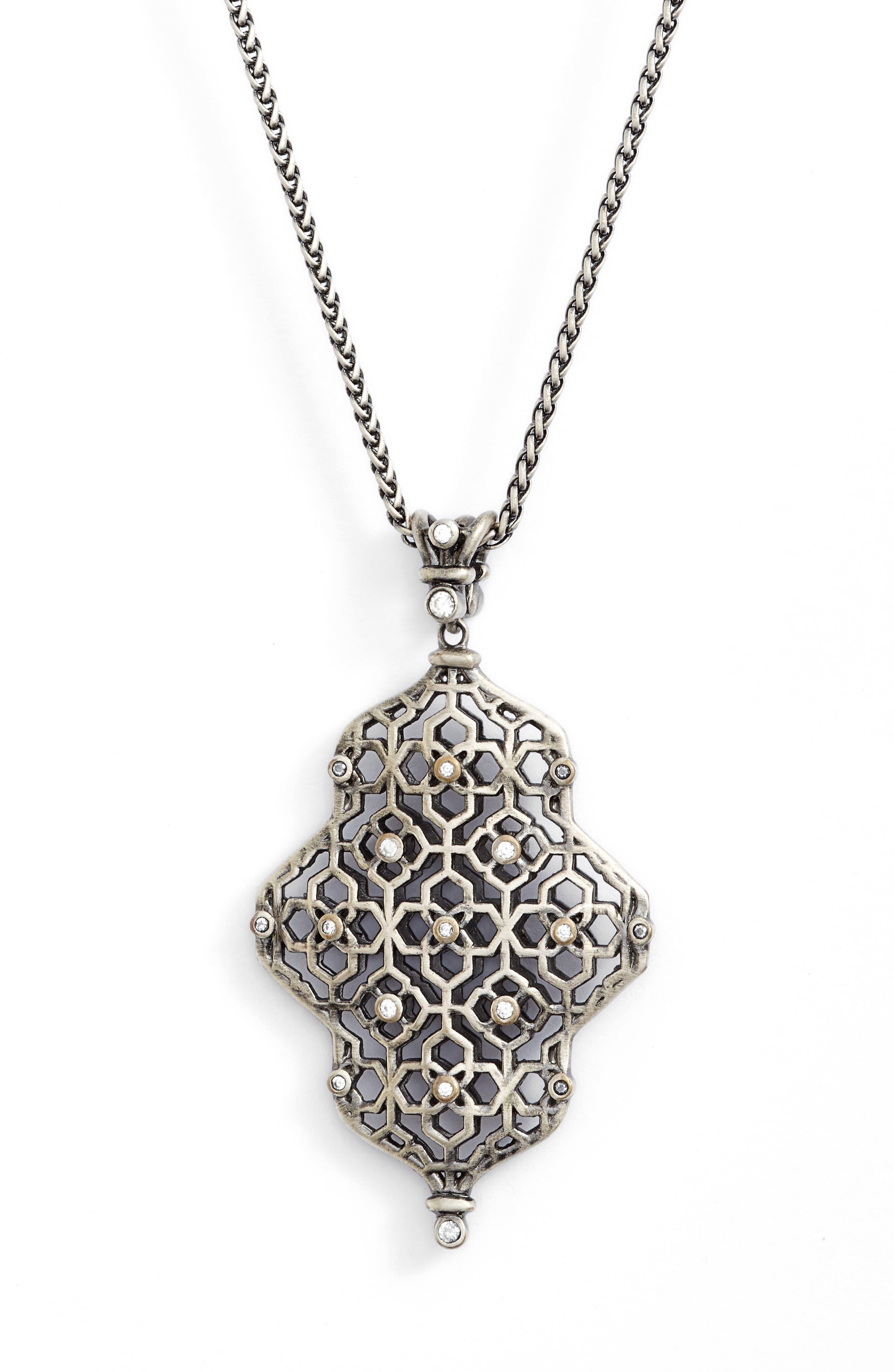 Alternate Image 2  - Kendra Scott Kathy Long Pendant Necklace