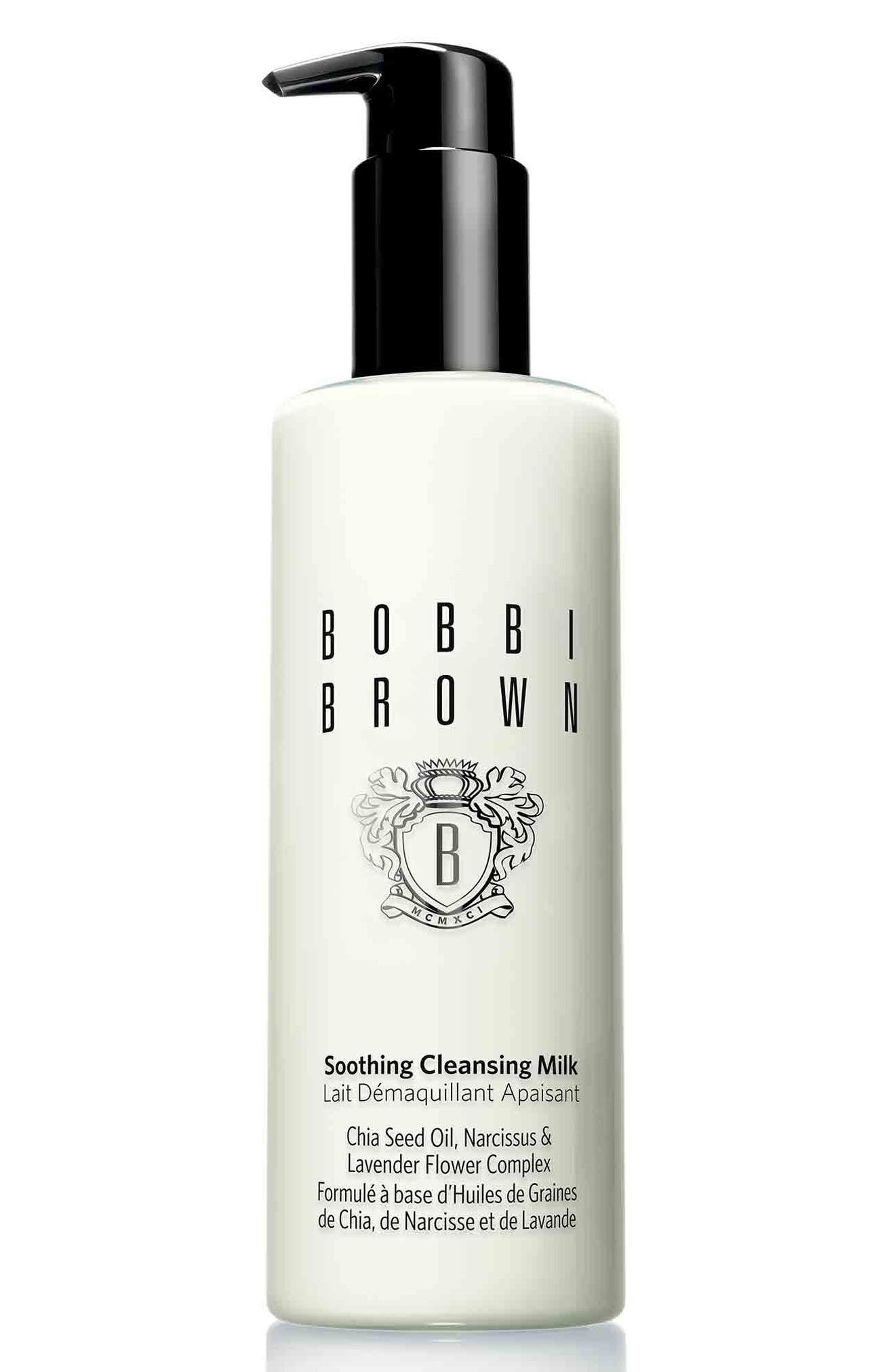 Soothing Cleansing Milk,                         Main,                         color, No Color