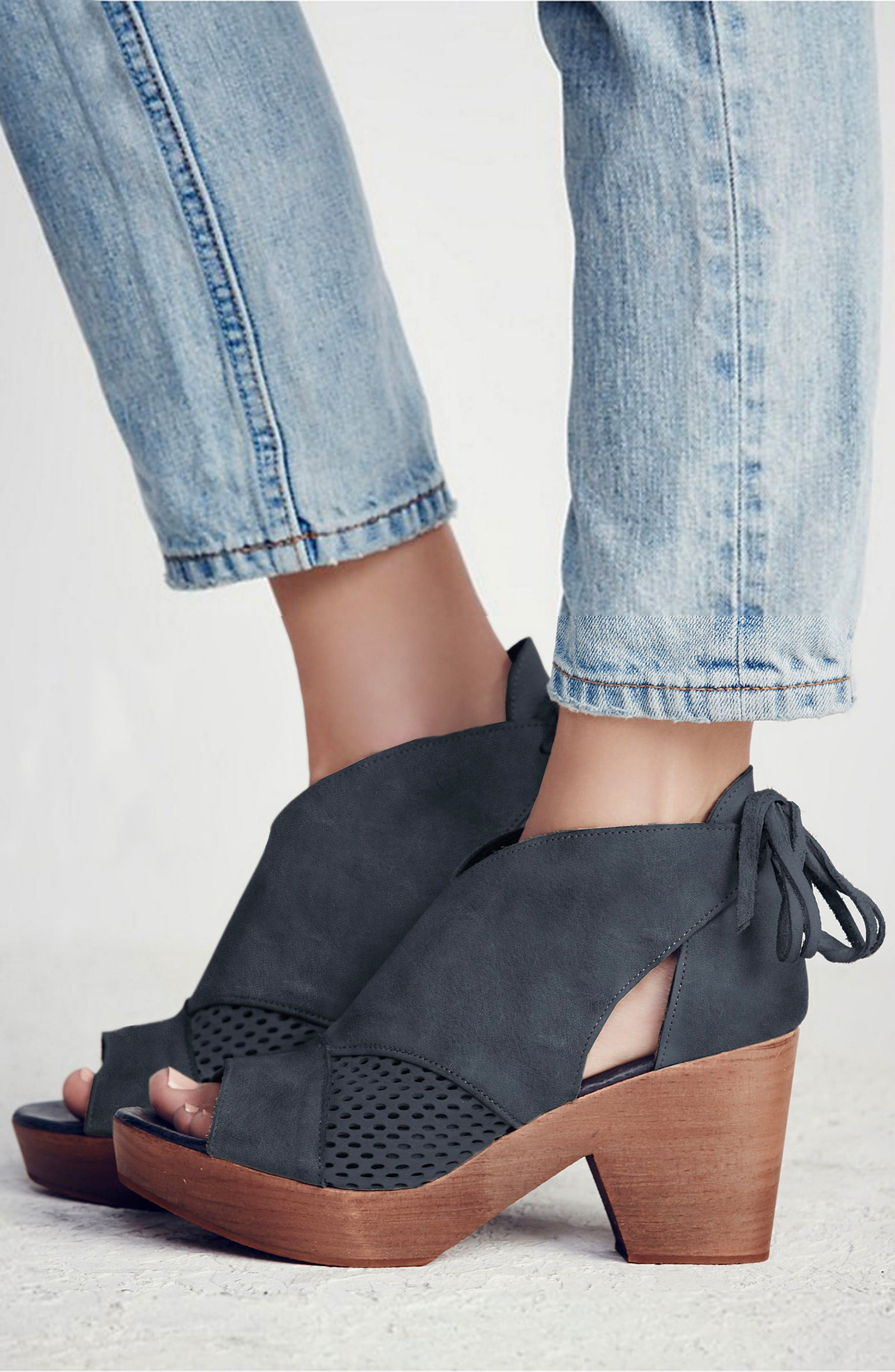 Alternate Image 2  - Free People Revolver Open-Toe Clog (Women)