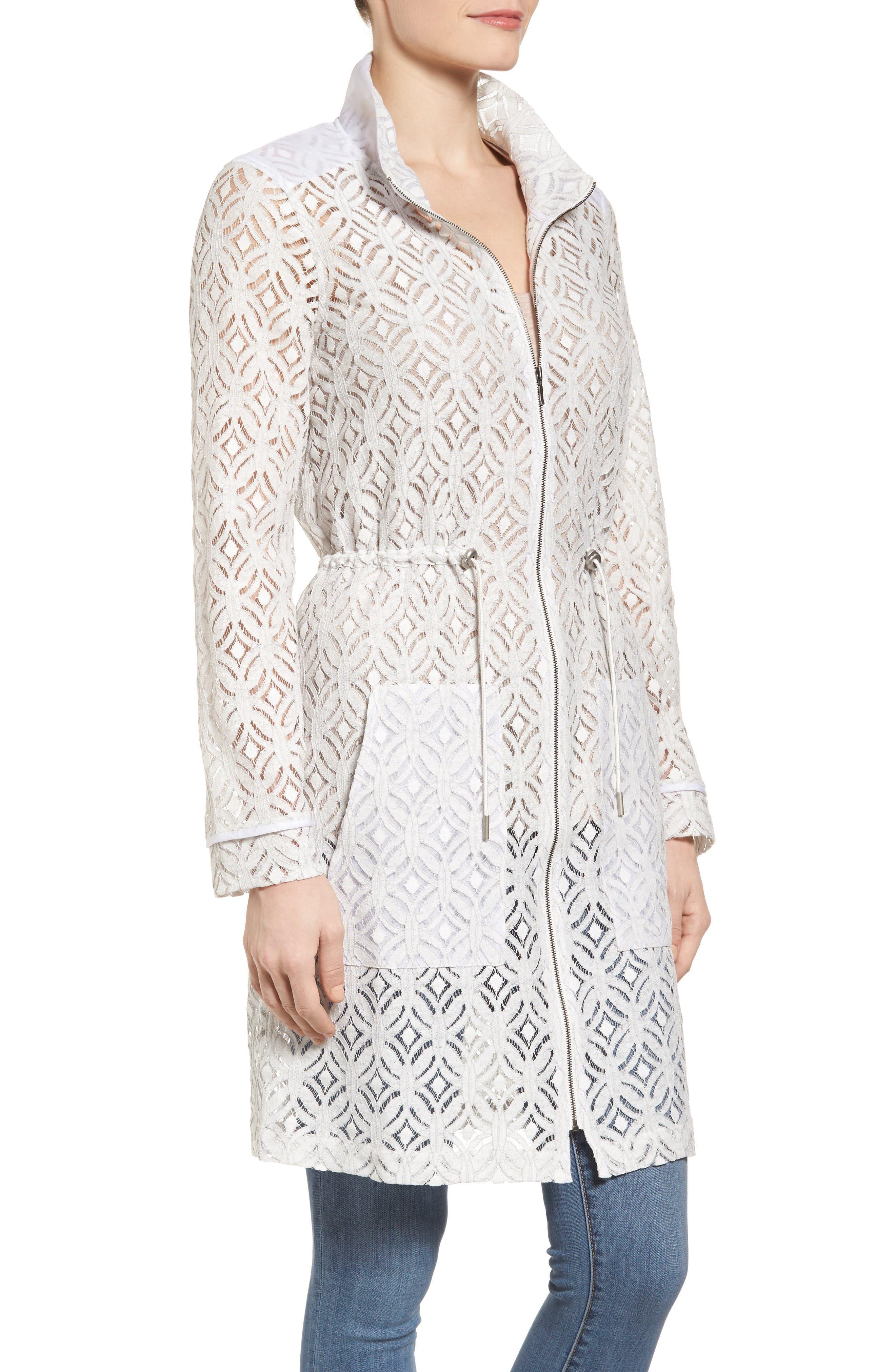 Alternate Image 3  - NIC+ZOE Lush Lace Coat