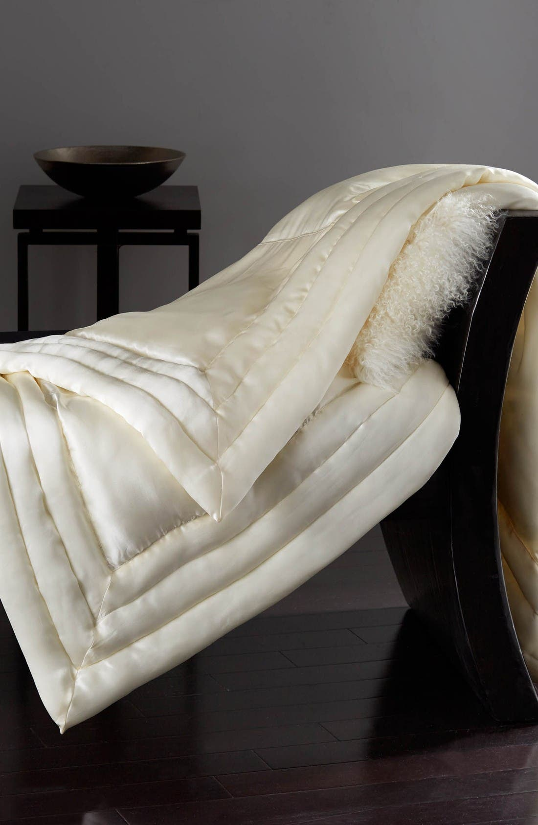 Silk Throw,                         Main,                         color, Ivory