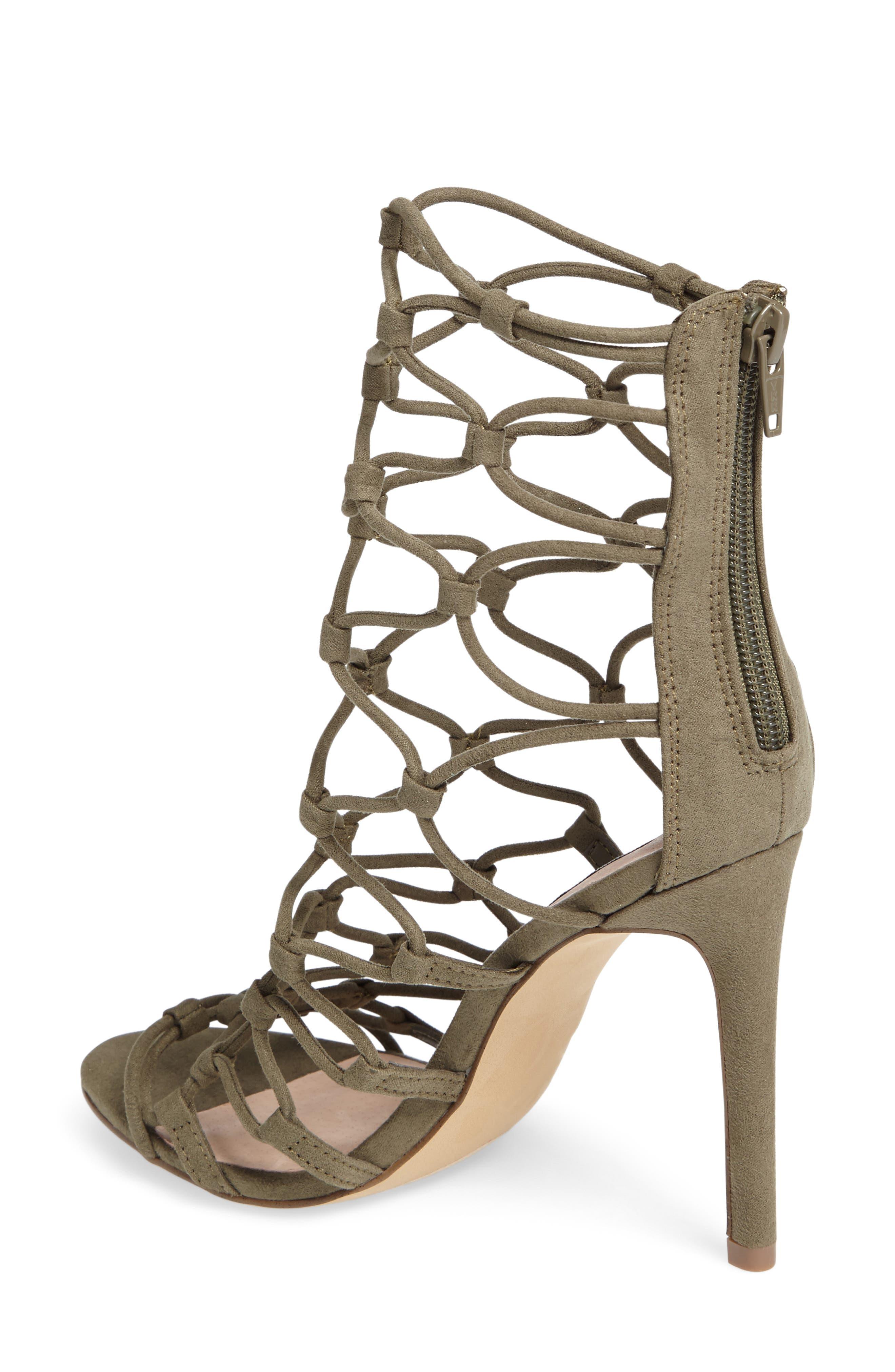 Alternate Image 2  - Steve Madden Mayfair Latticework Tall Sandal (Women)