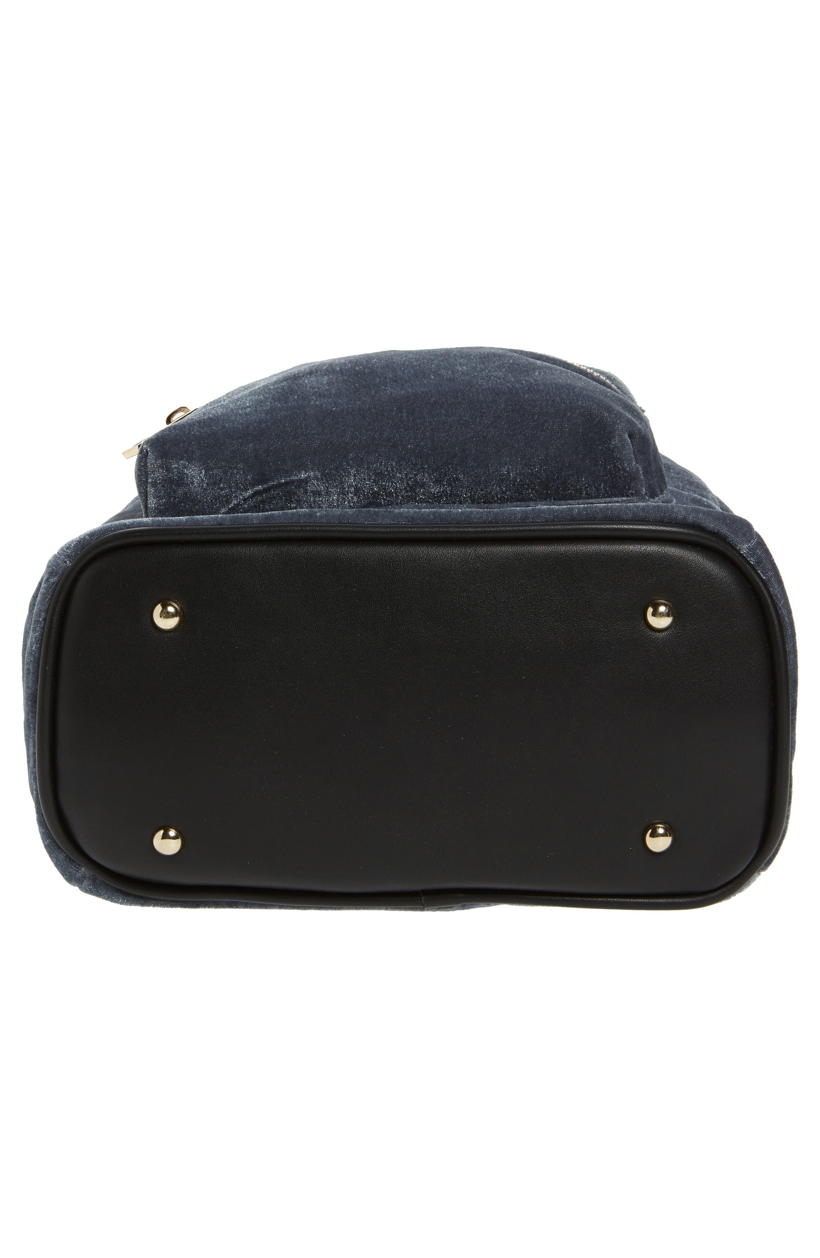 Alternate Image 6  - BP. Mini Velvet Backpack