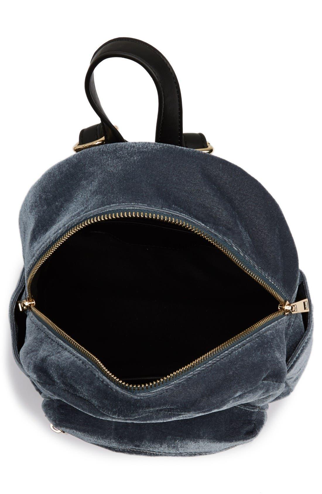Alternate Image 4  - BP. Mini Velvet Backpack