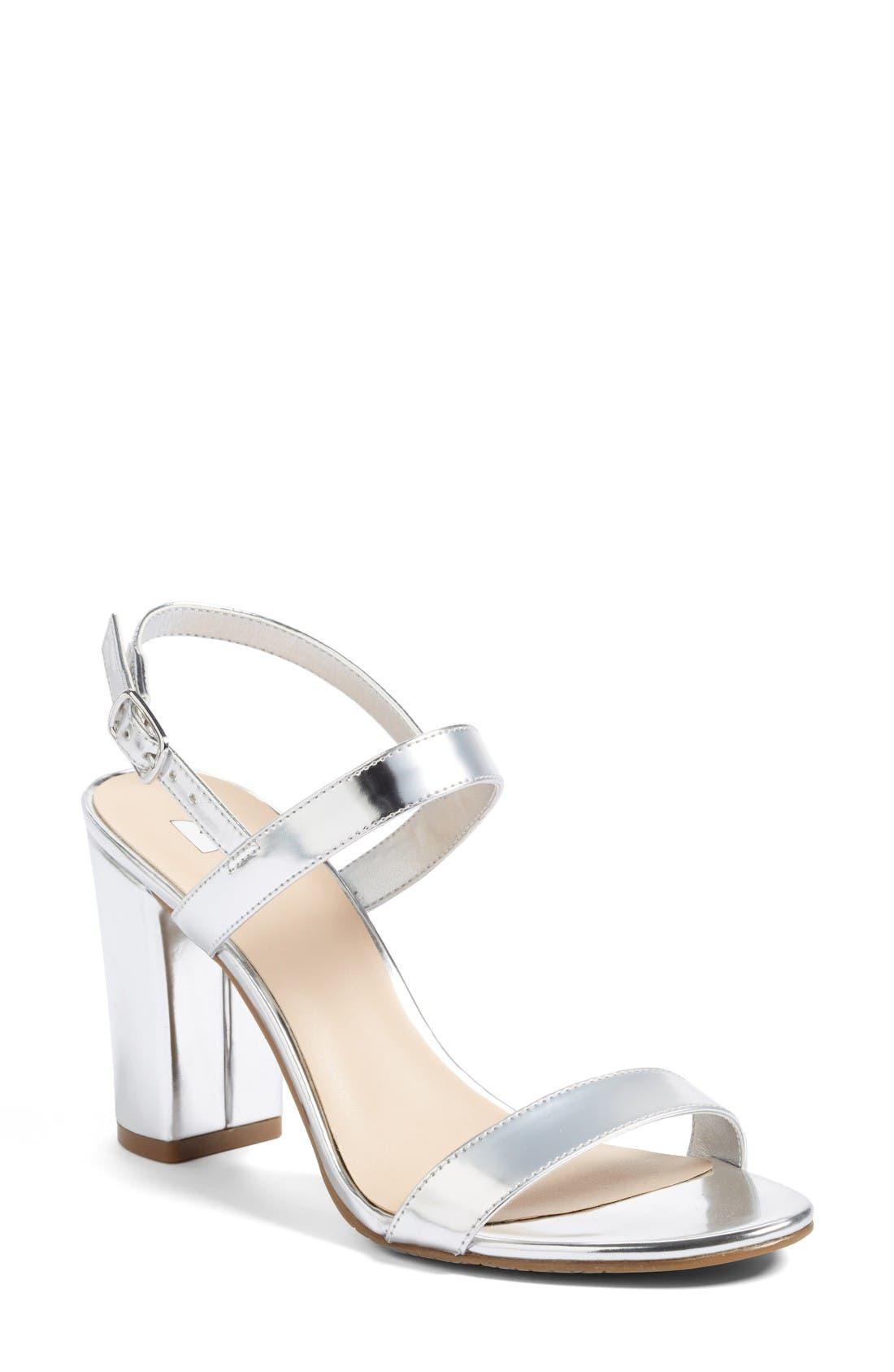 Silver Metallic Heels w0TXsKJE