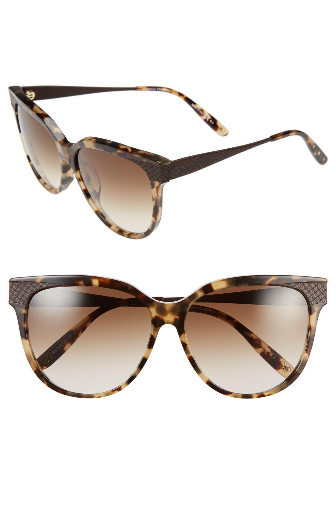 Alternate Image 1 Selected - Bottega Venata 59mm Special Fit Sunglasses