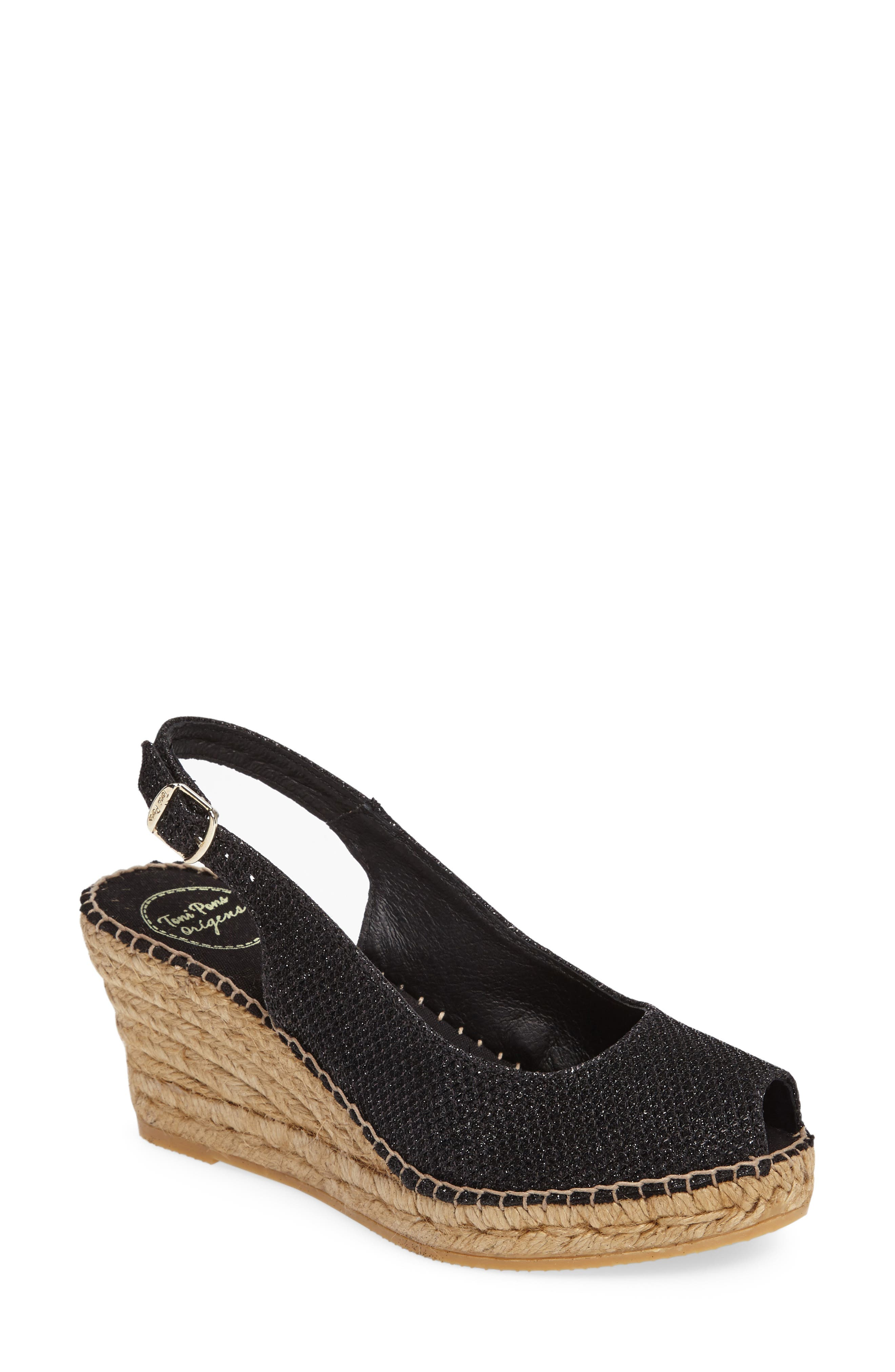 Toni Pons Calafell Slingback Wedge Espadrille (Women)