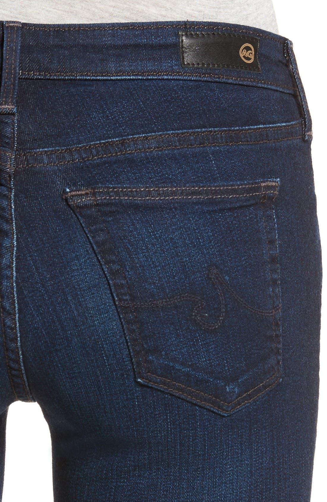 Alternate Image 4  - AG Jeans Super Skinny Stretch Jeans (Jetsetter)