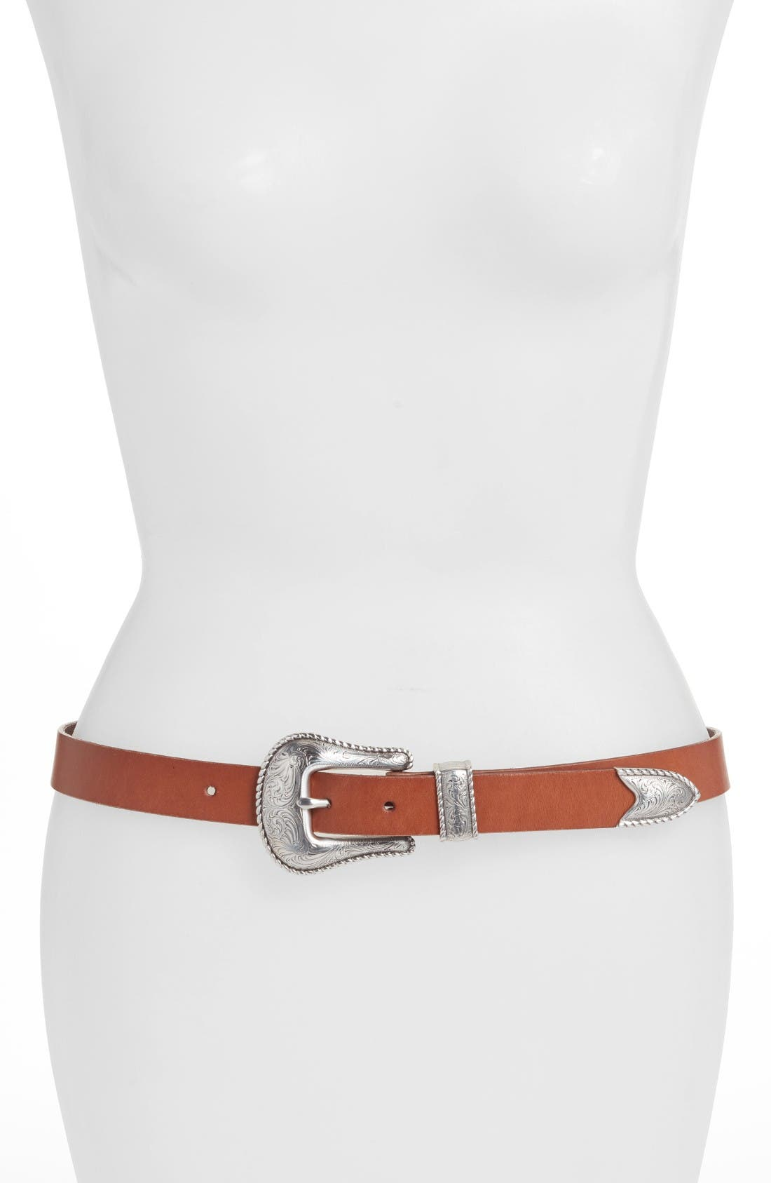 Another Line Skinny Western Belt