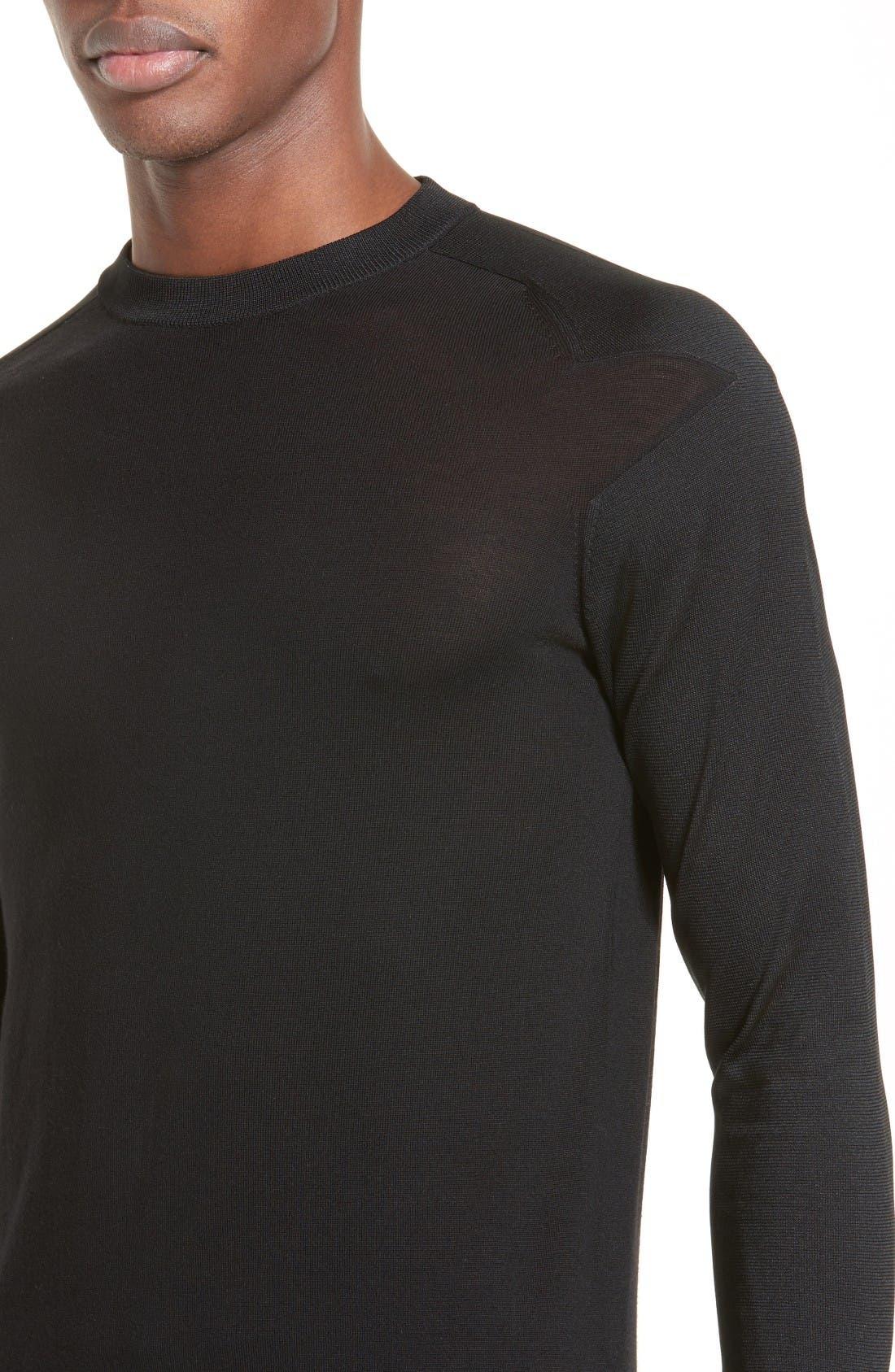 Alternate Image 4  - Givenchy Star Shoulder Sweater