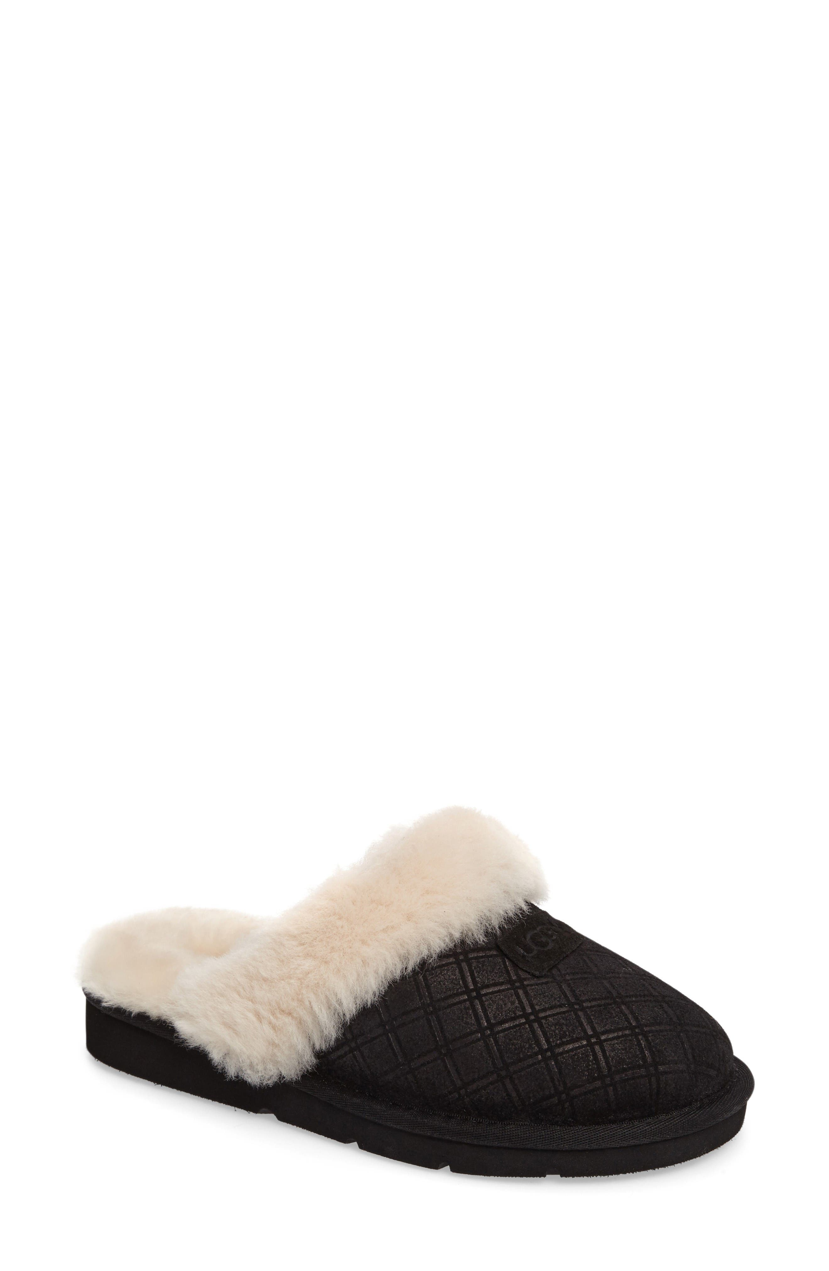 Main Image - UGG® Cozy Genuine Shearling Slipper (Women)