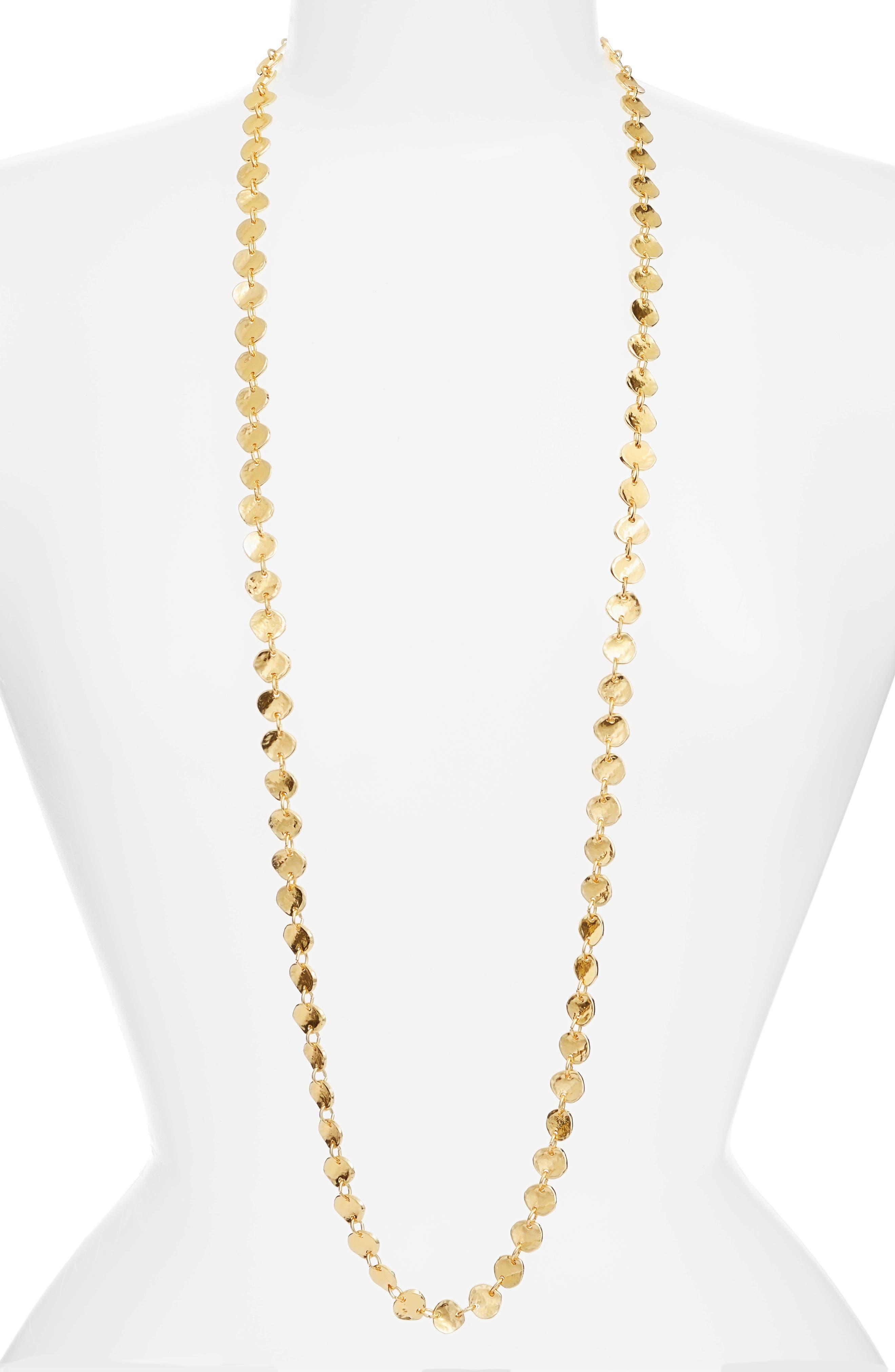 Alternate Image 1 Selected - Karine Sultan Sophia Long Necklace
