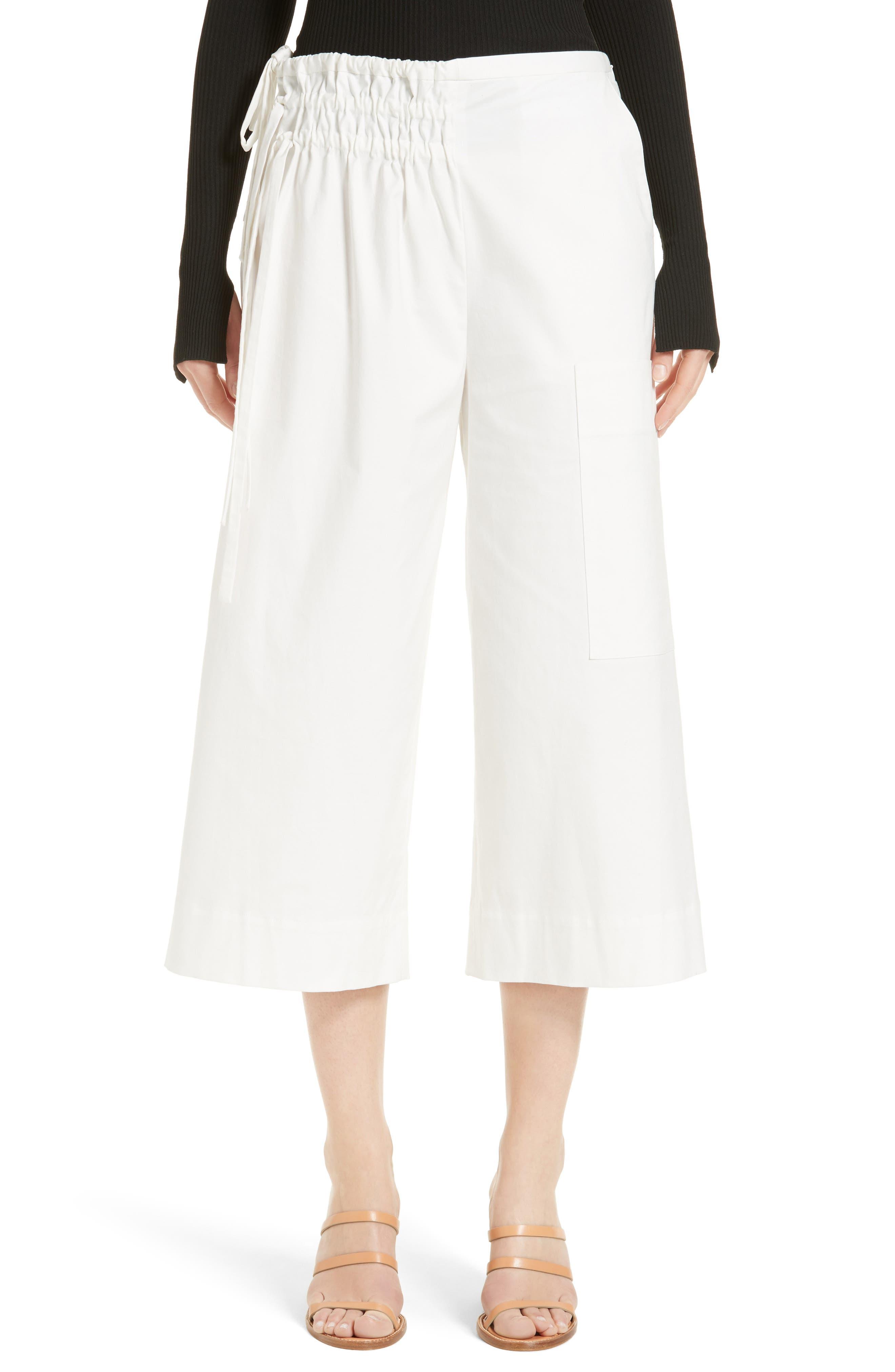 Alternate Image 1 Selected - Tibi Esteban Crop Twill Pants