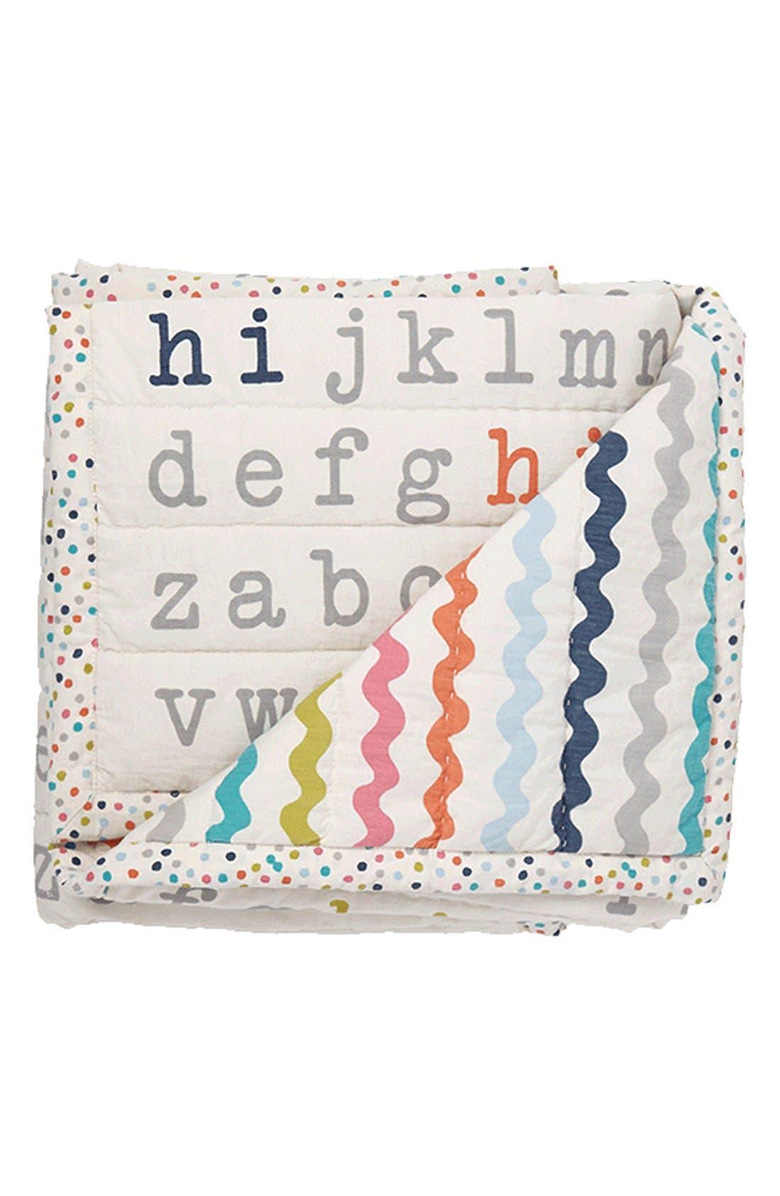 Hi Baby Blanket,                             Main thumbnail 1, color,                             Multi