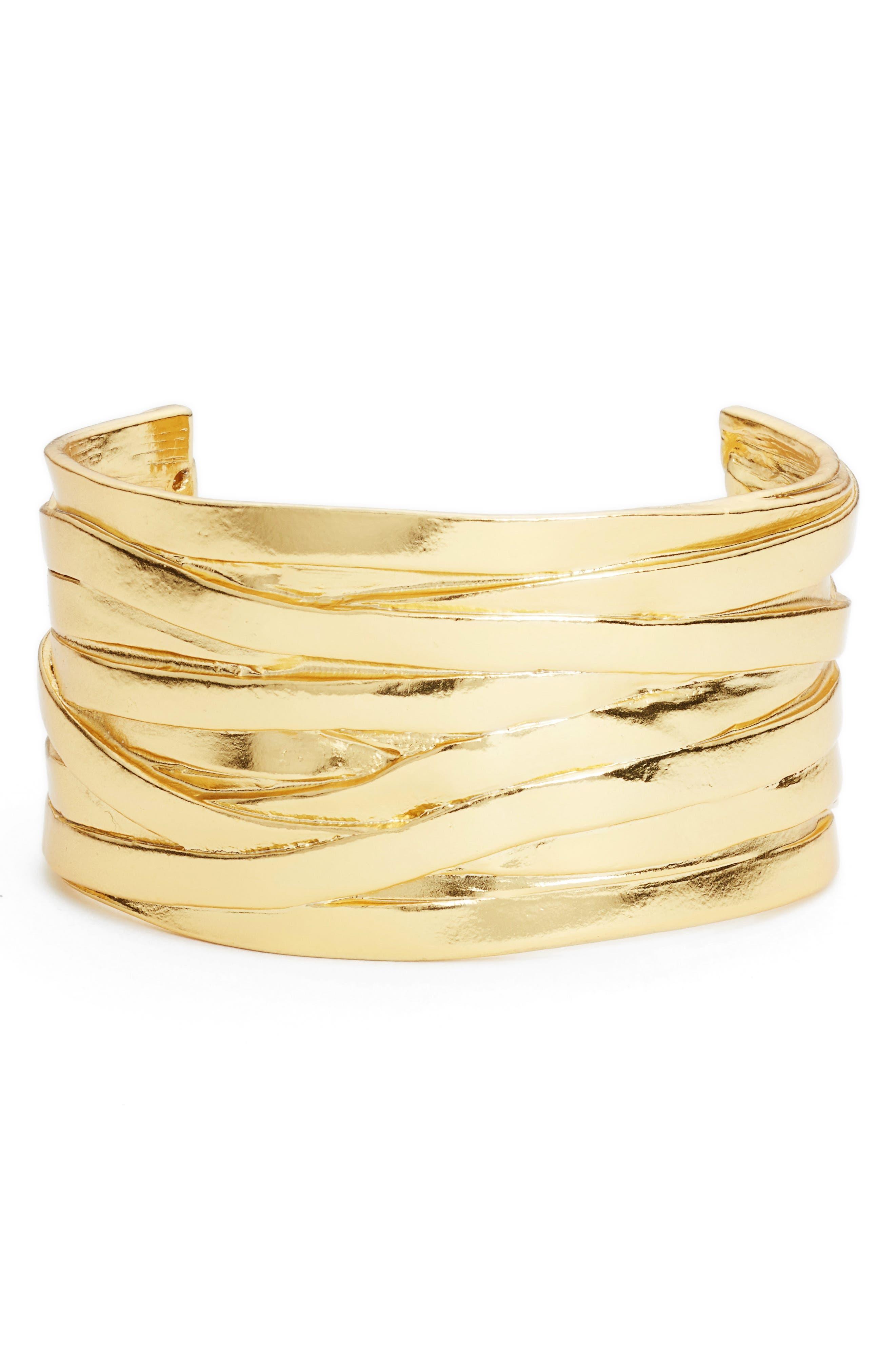 Karine Sultan Angelique Wrist Cuff