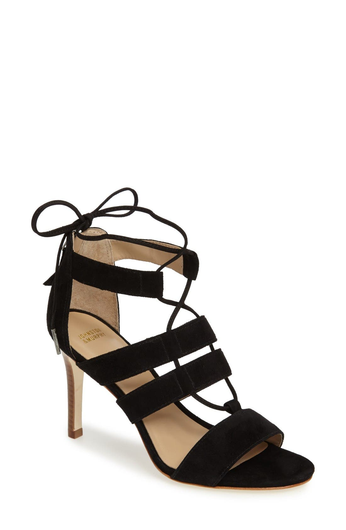 Johnston & Murphy Natasha Strappy Sandal (Women)