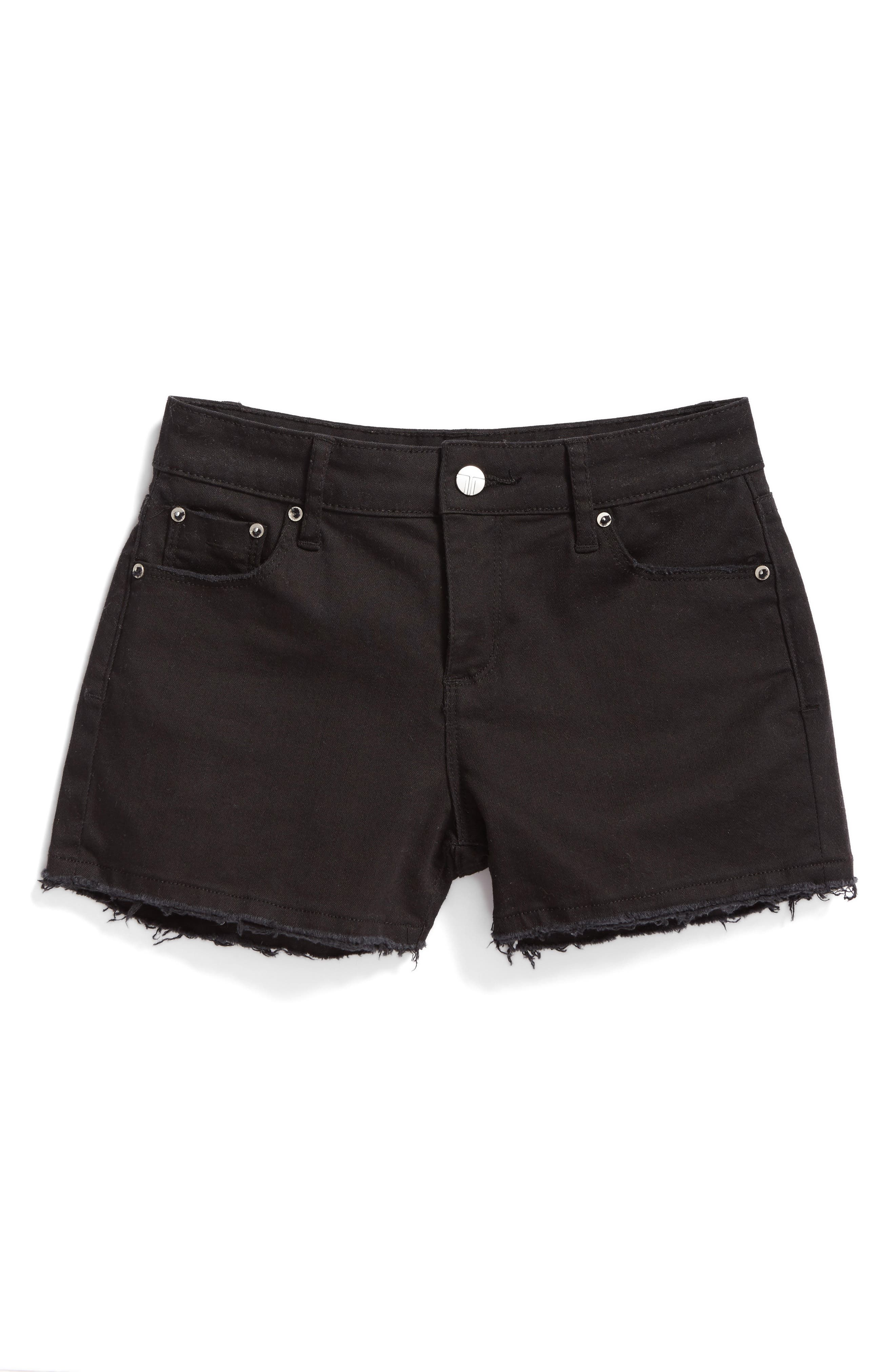 Tractr Frayed Shorts (Big Girls)