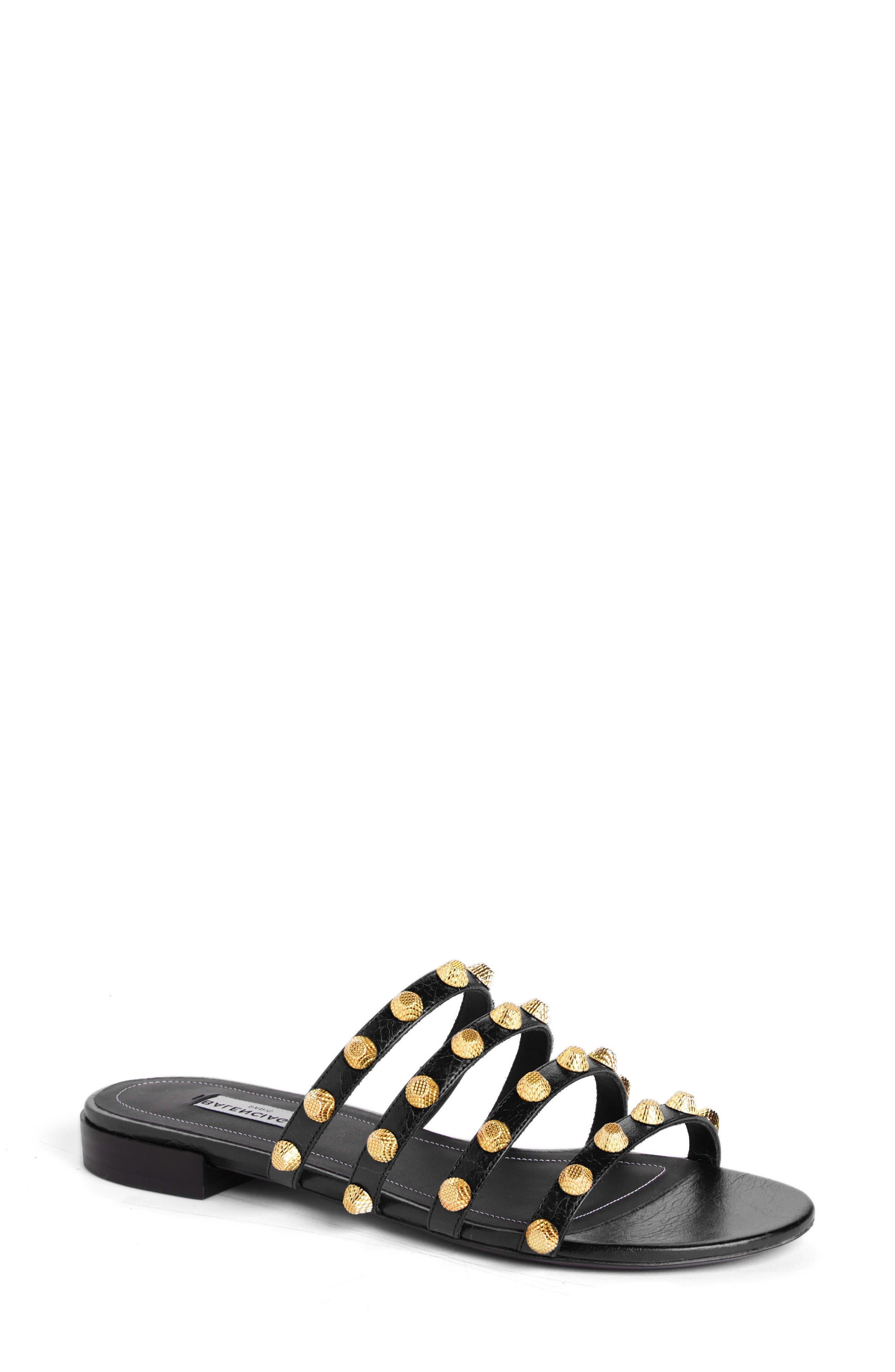 Main Image - Balenciaga Studded Slide Sandal (Women)