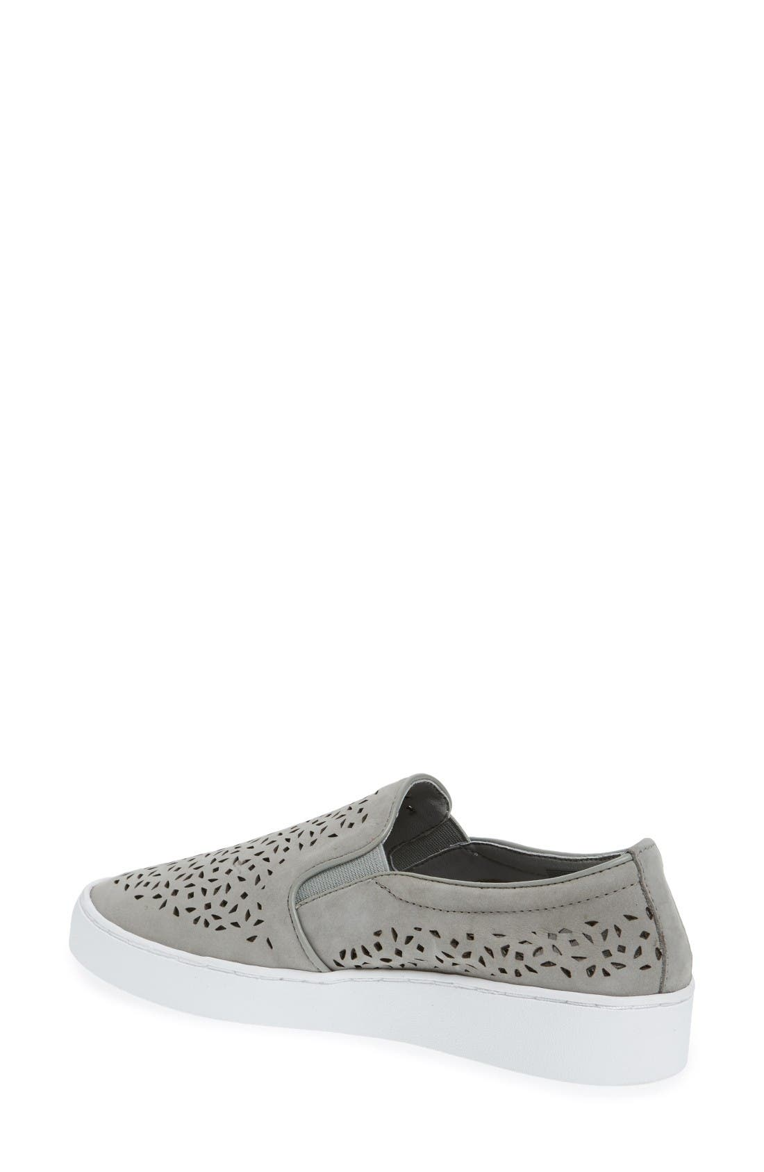 Alternate Image 2  - Vionic Perforated Slip-On Sneaker (Women)