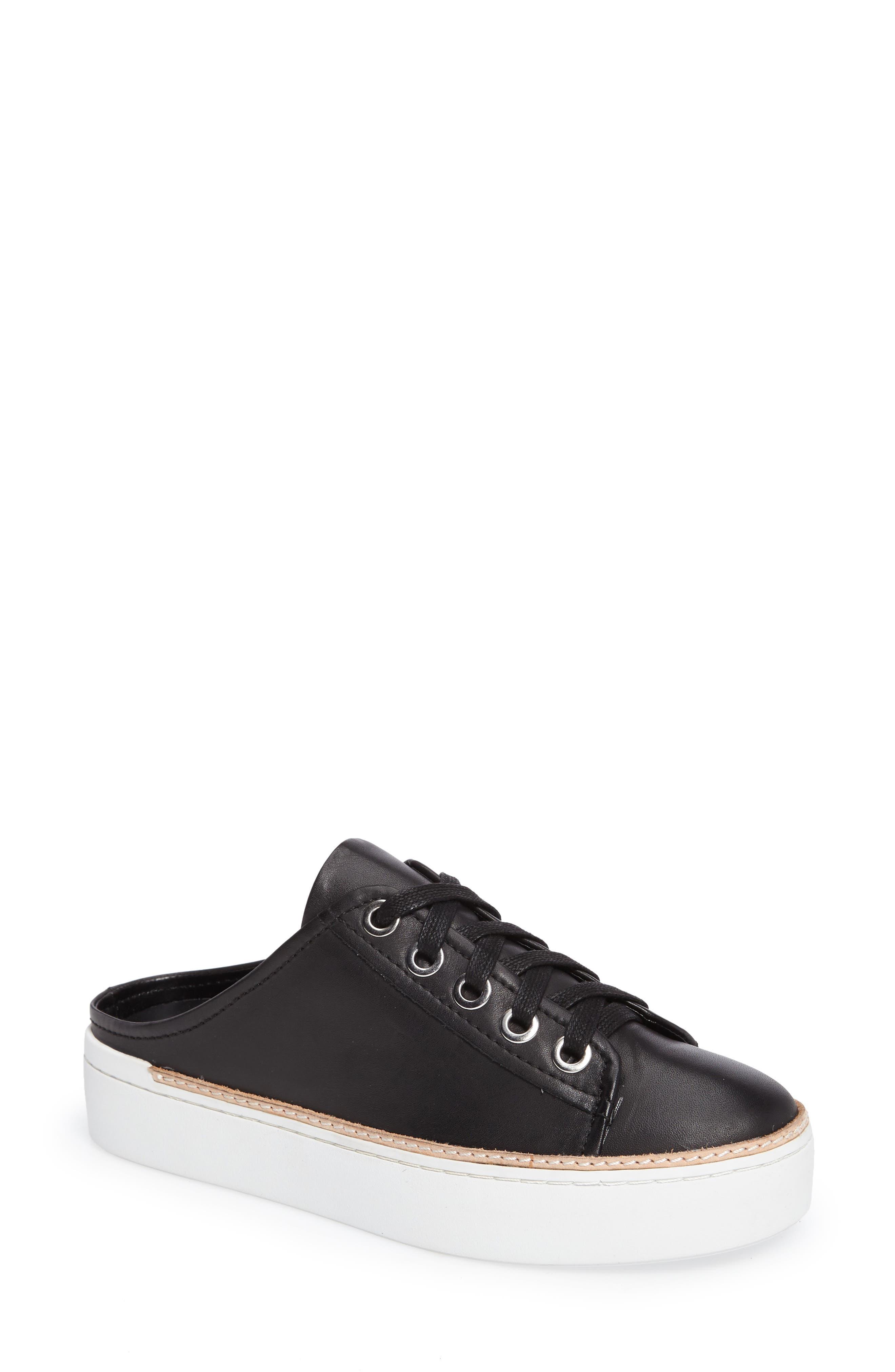 M4D3 Slide Platform Sneaker,                             Main thumbnail 1, color,                             Black